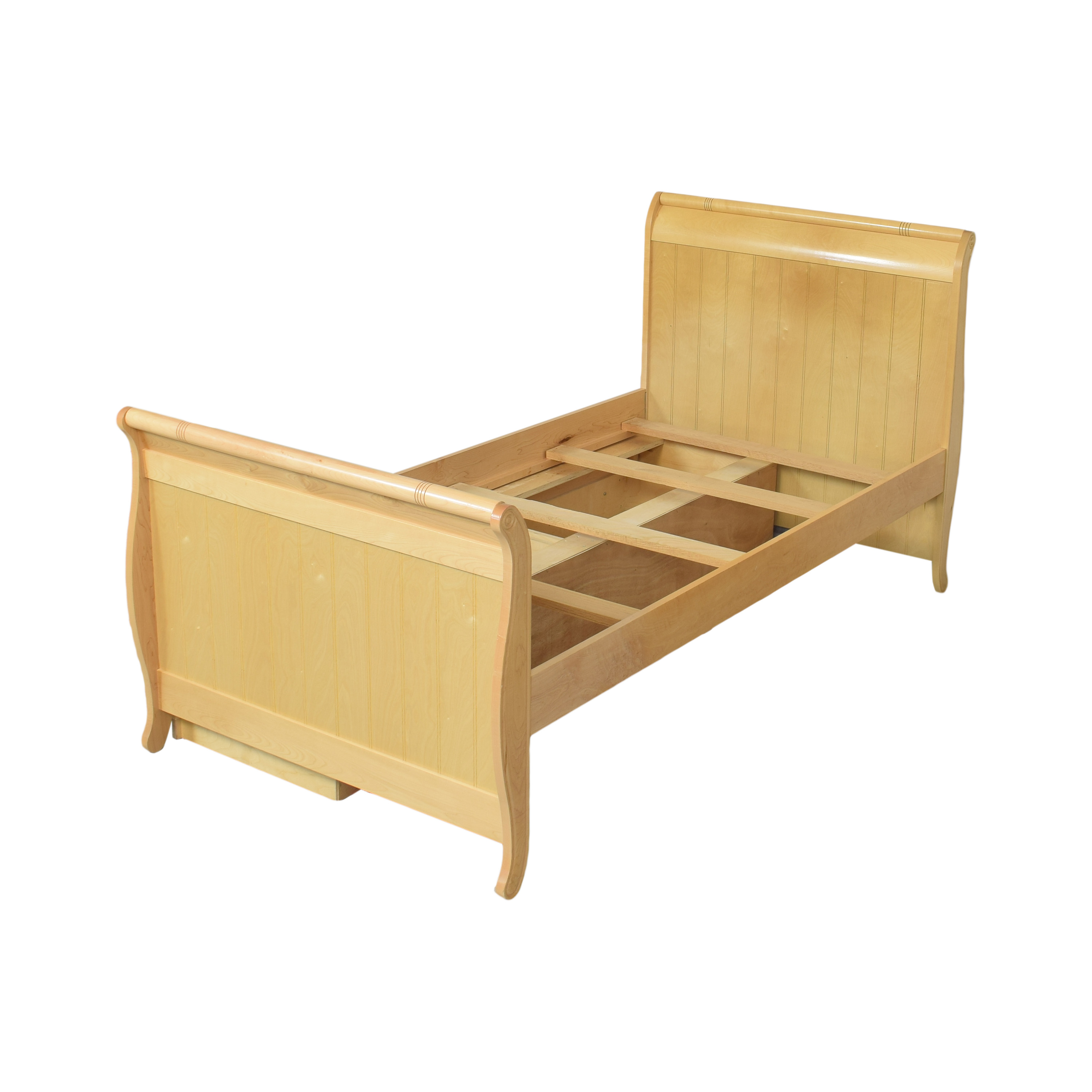 Stanley Furniture Stanley Furniture Young America Twin Sleigh Bed with Storage dimensions