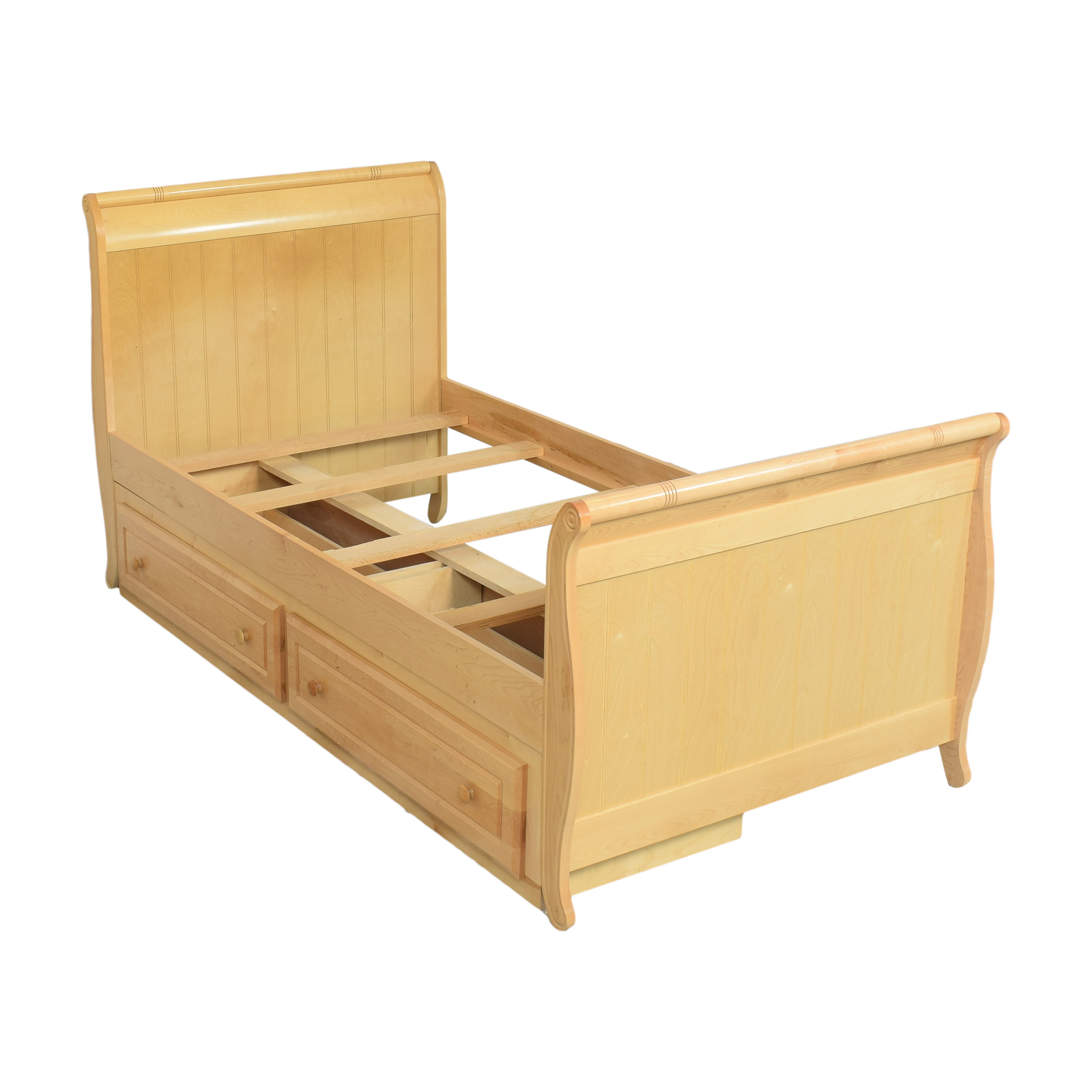 Stanley Furniture Young America Twin Sleigh Bed with Storage sale