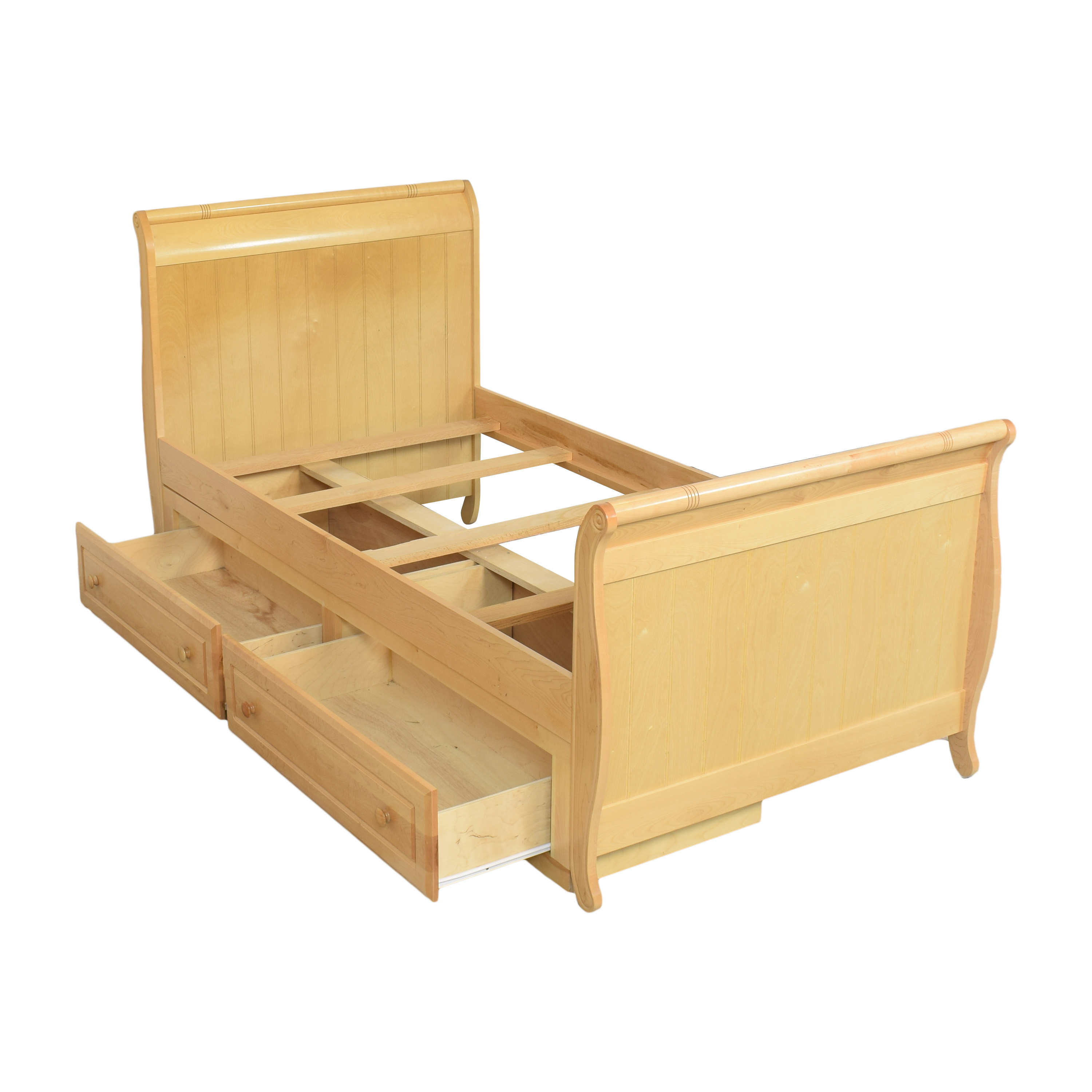 Stanley Furniture Young America Twin Sleigh Bed with Storage Stanley Furniture