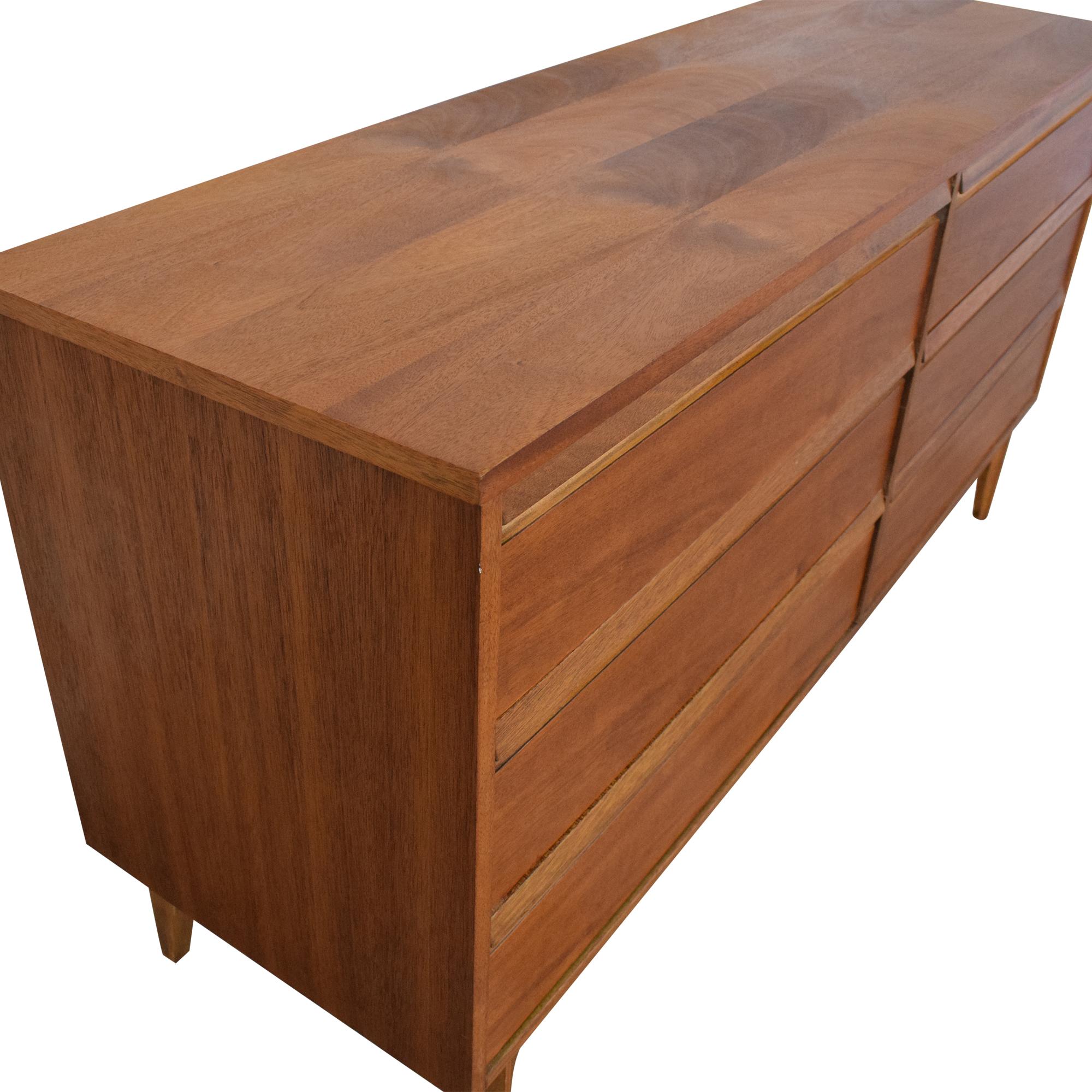 Mid-Century Modern Style Double Dresser pa