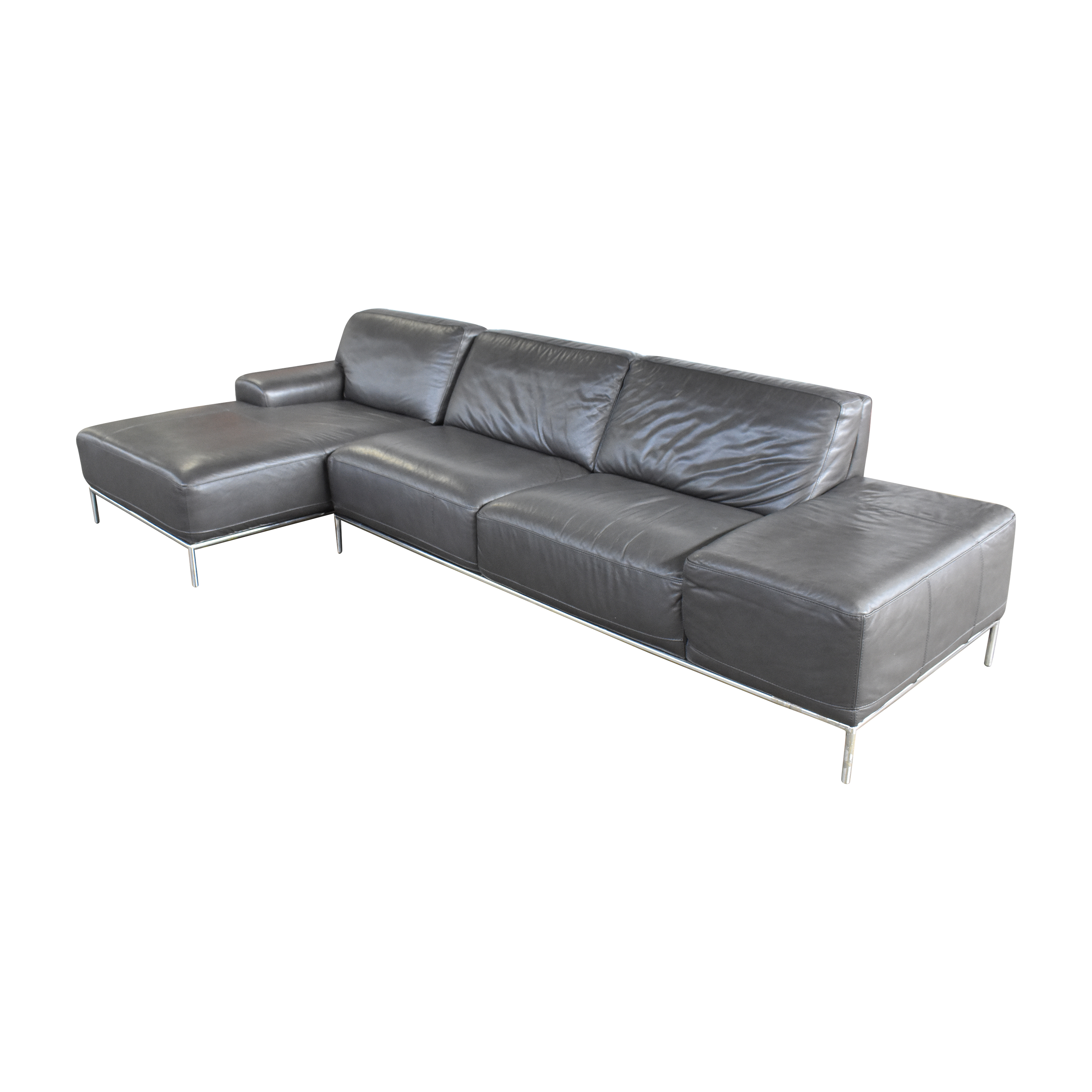 Chateau d'Ax Chateau d'Ax Grey Sectional dimensions