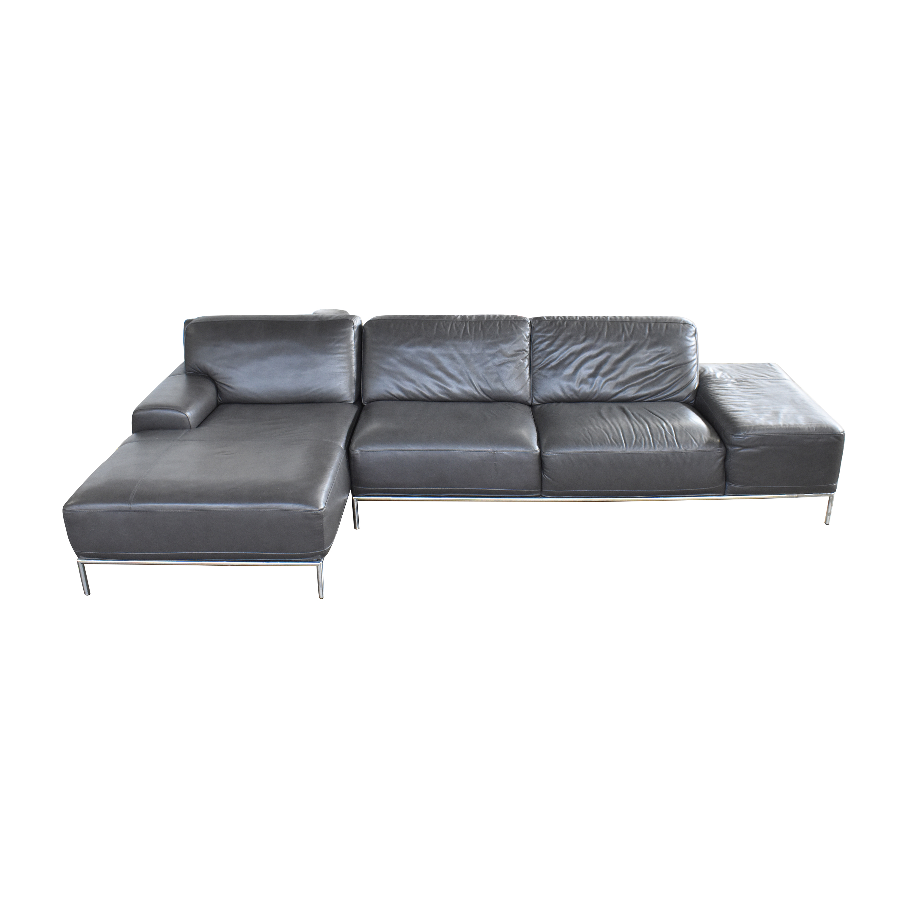 Chateau d'Ax Grey Sectional / Sofas