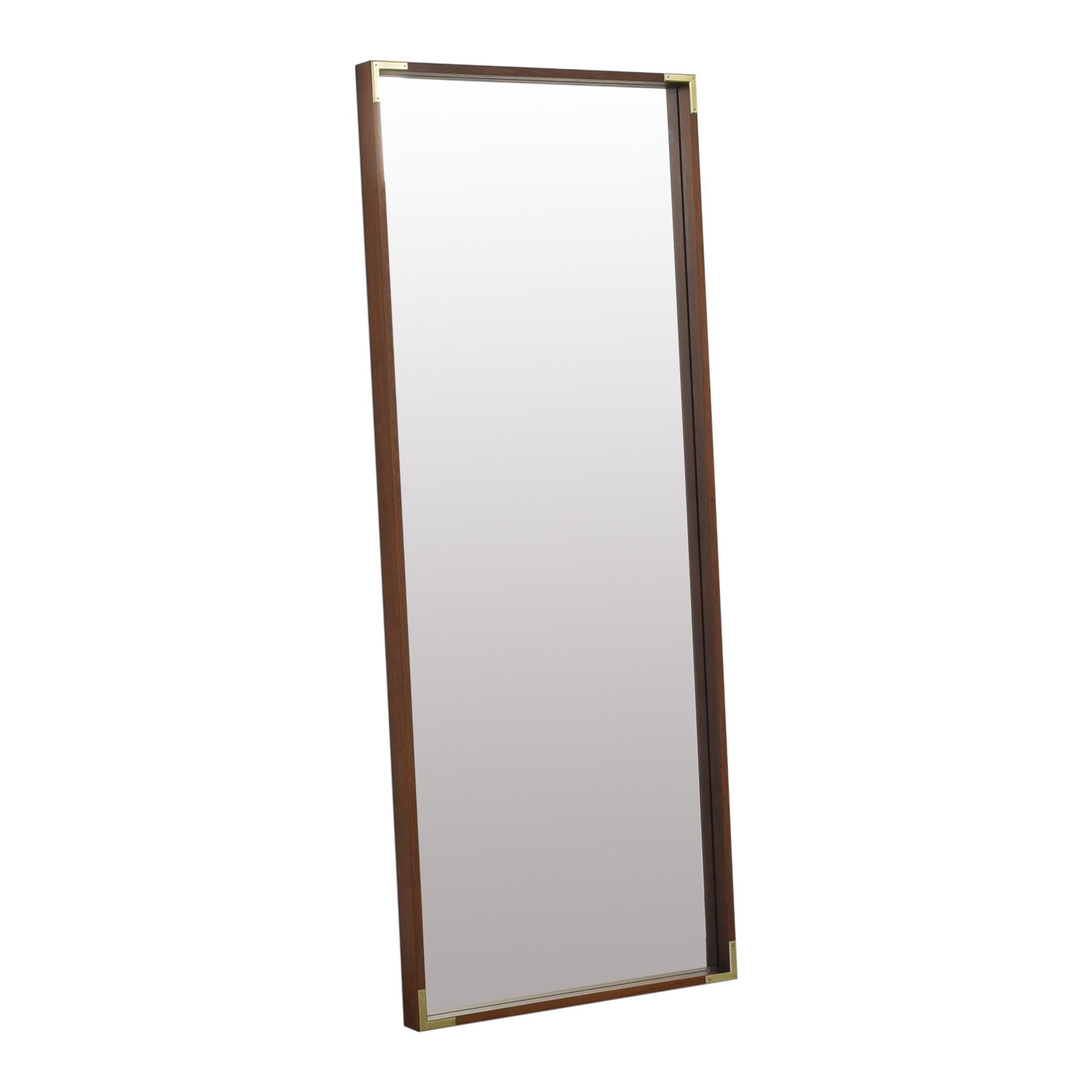 West Elm West Elm Malone Campaign Floor Mirror used