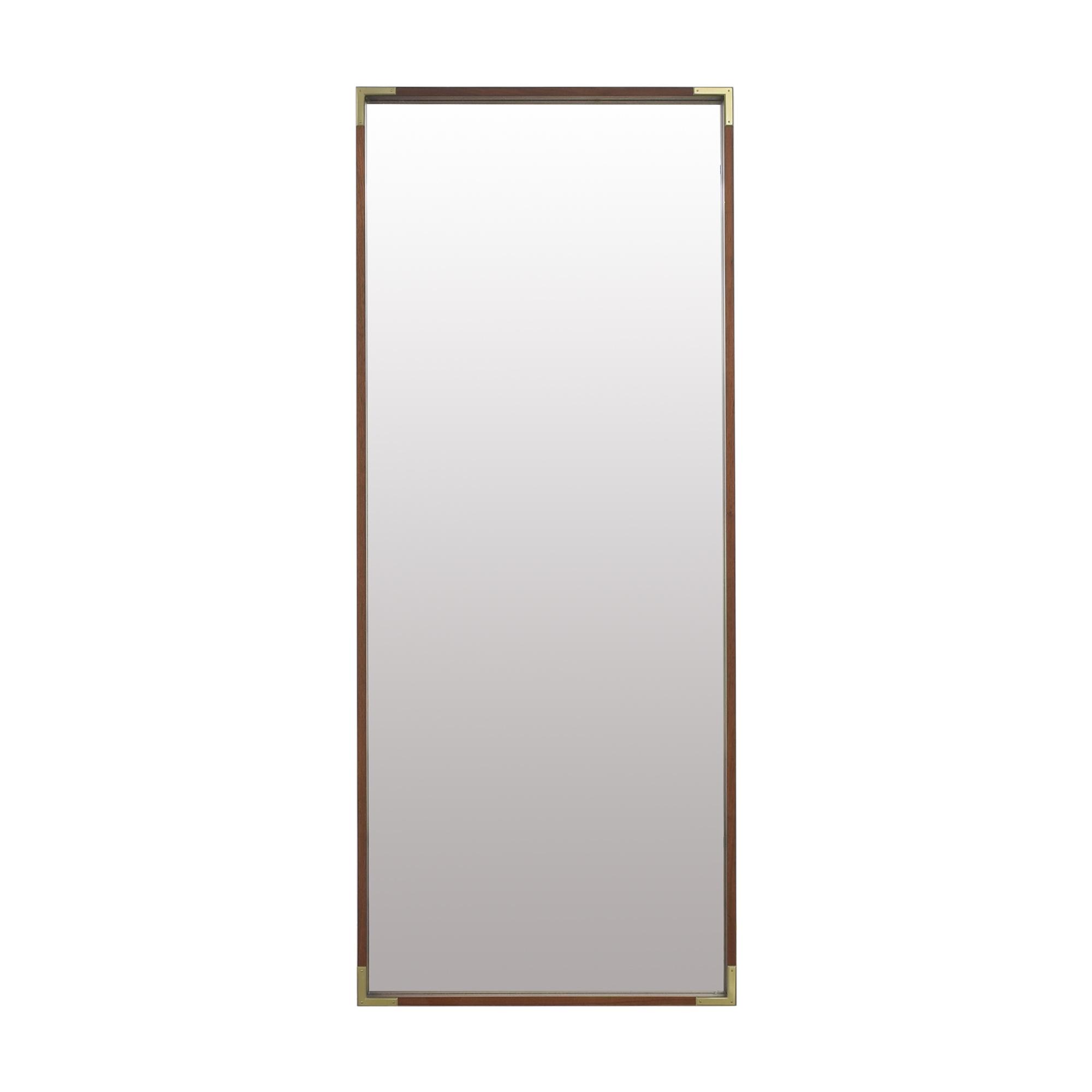 West Elm West Elm Malone Campaign Floor Mirror Mirrors