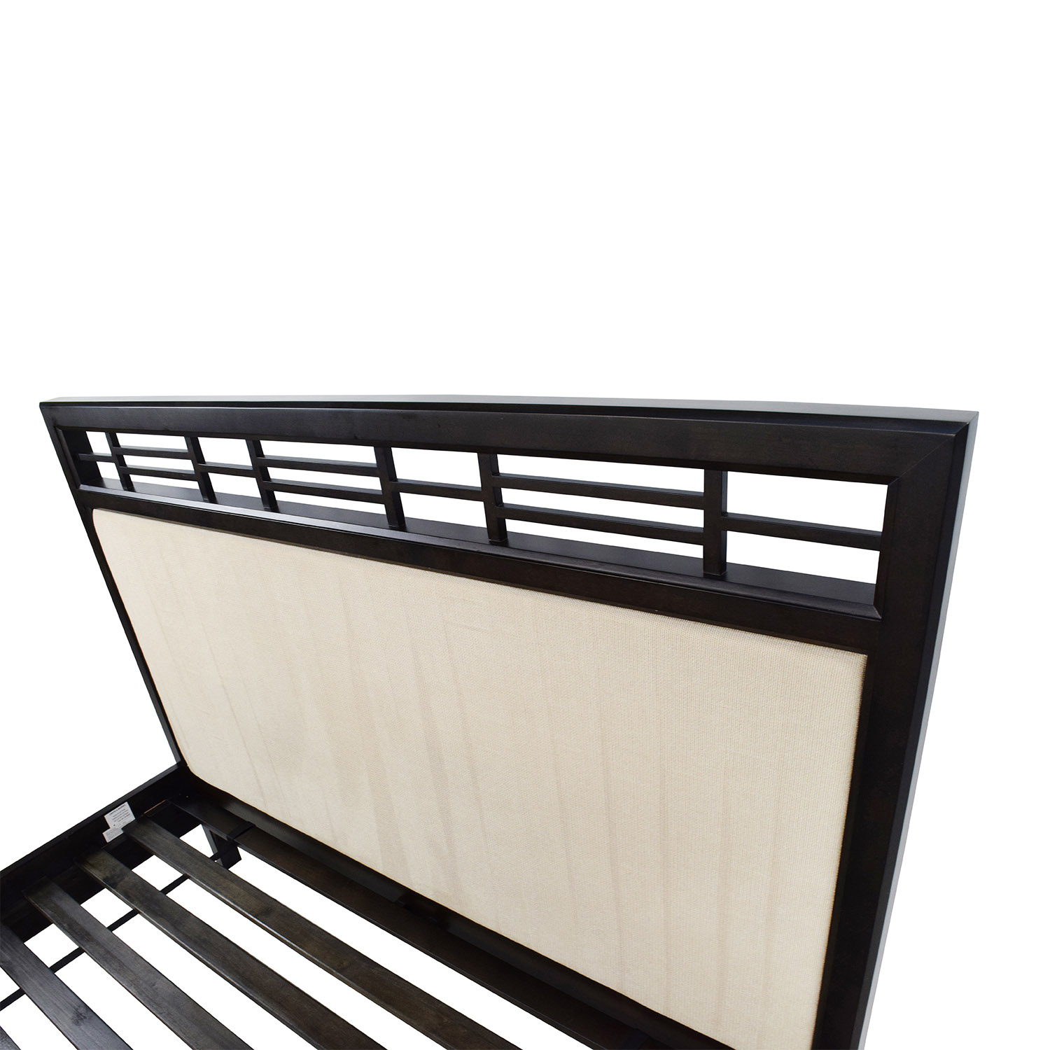54 Off Crate And Barrel Crate Amp Barrel Wood And Fabric