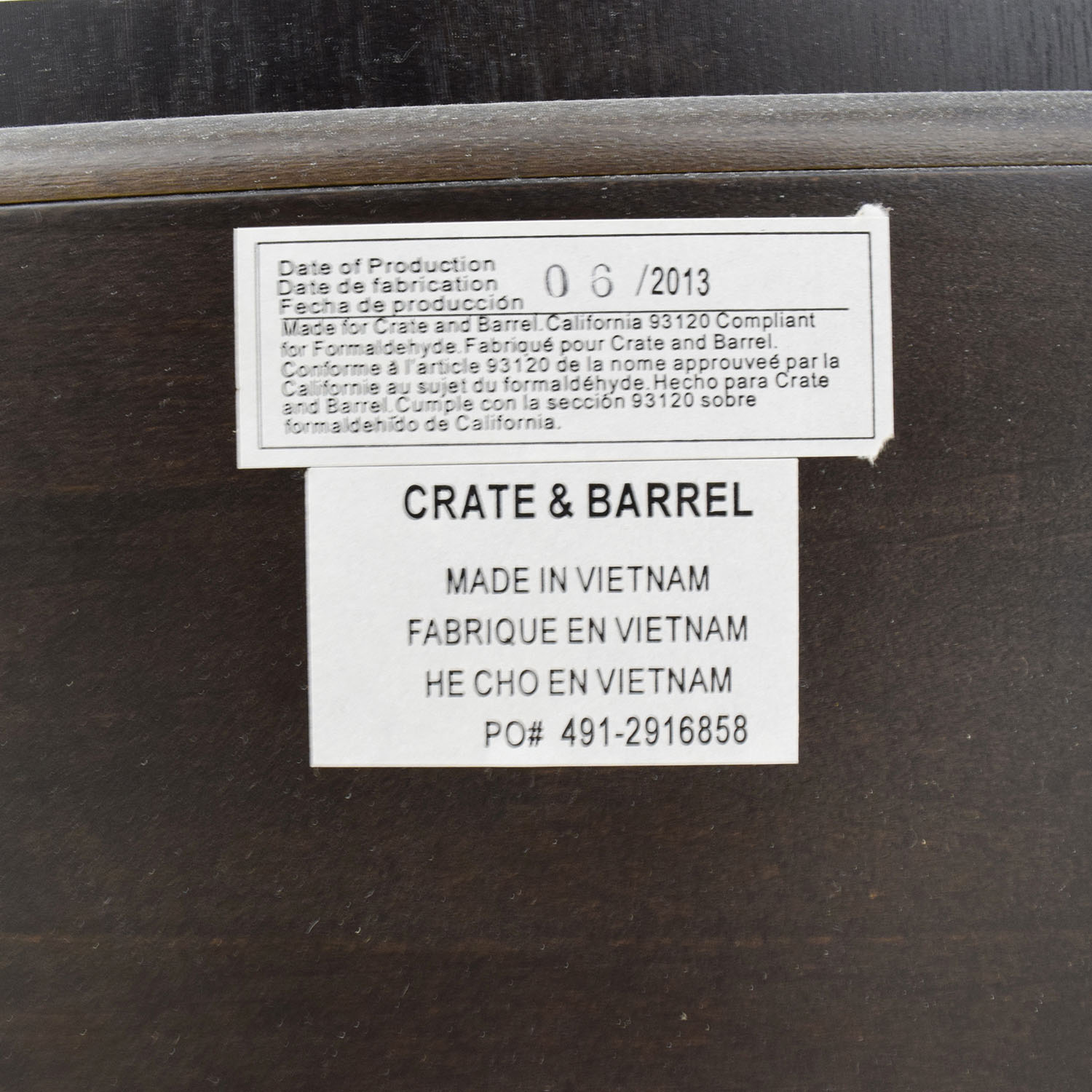 Crate And Barrel Wood Fabric Platform Bed Frame Coupon
