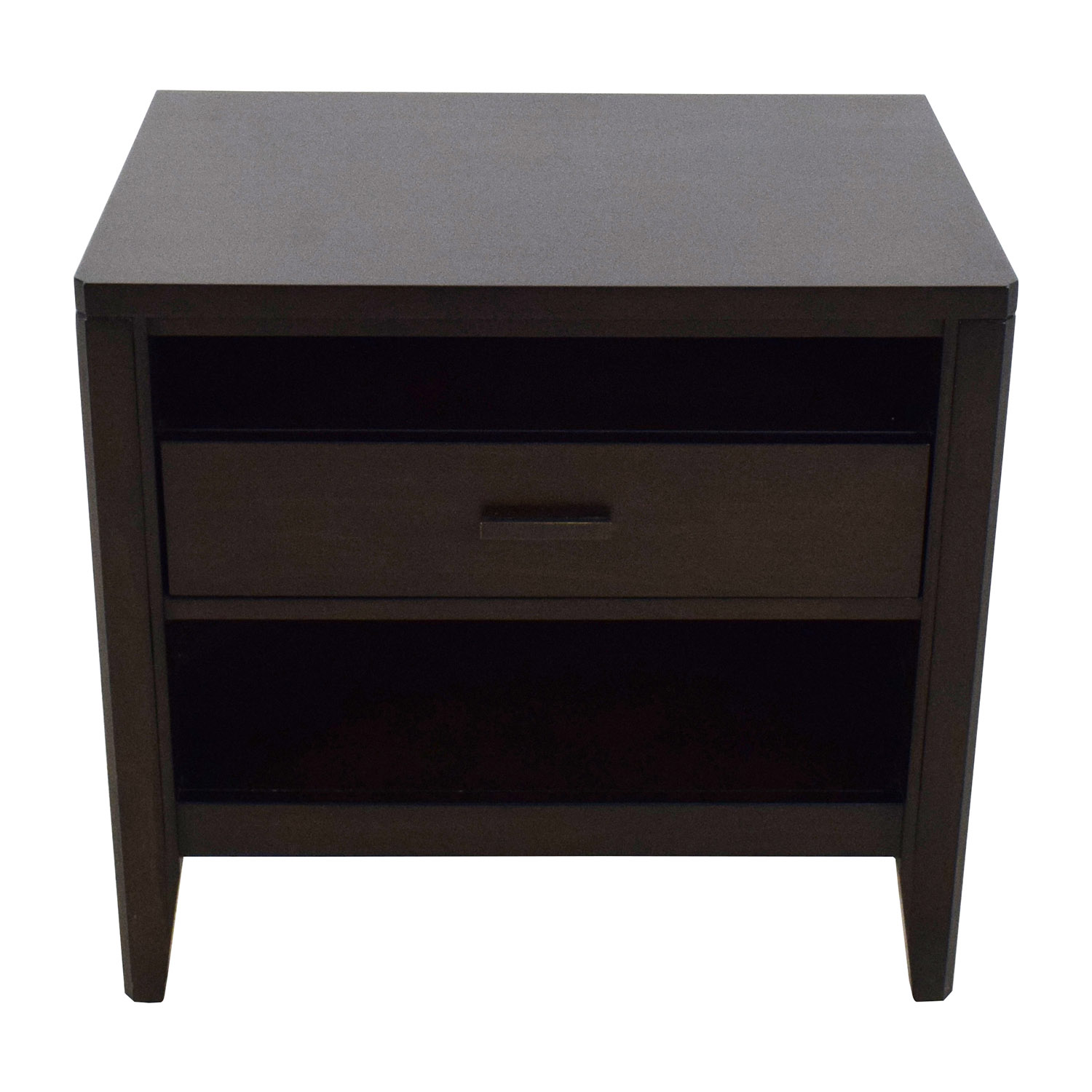 OFF Crate and Barrel Crate & Barrel Wood Nightstand Tables