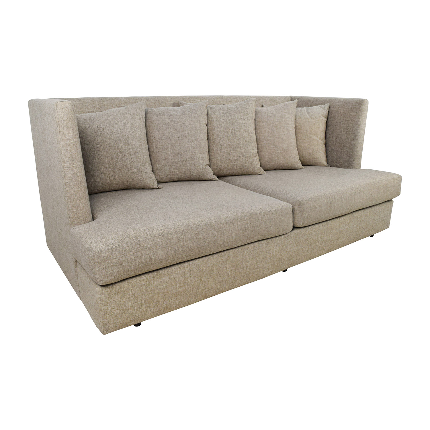 34 Off Crate Barrel Crate Barrel Shelter Beige Couch Sofas