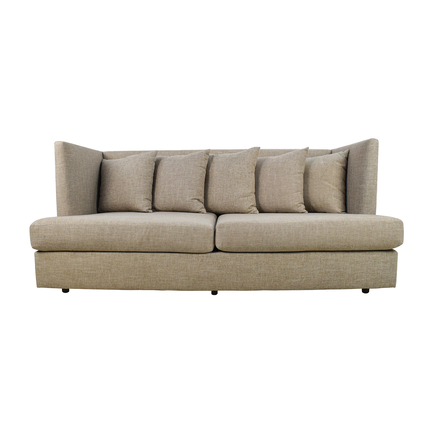 Crate & Barrel Shelter Beige Couch / Sofas