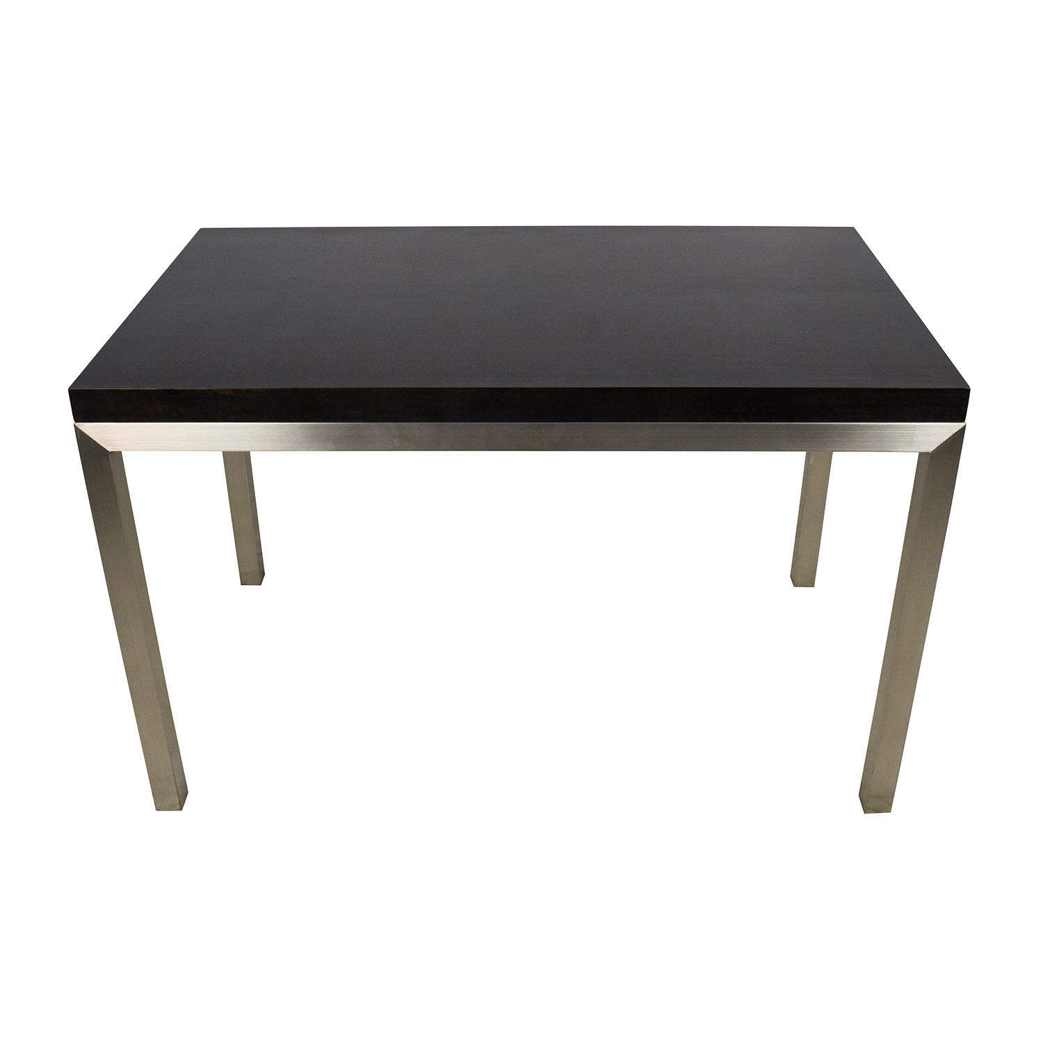 ... Crate And Barrel Crate U0026 Barrel Parsons Dining Table For ...