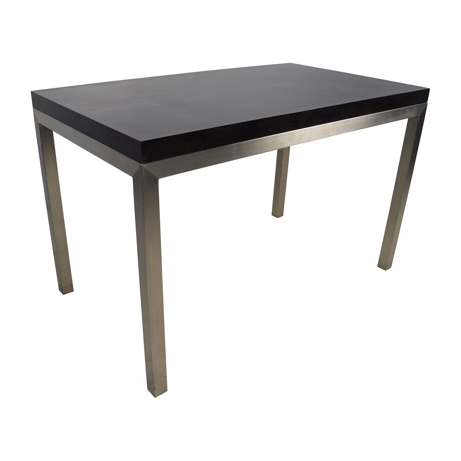 ... Crate And Barrel Crate U0026 Barrel Parsons Dining Table ...