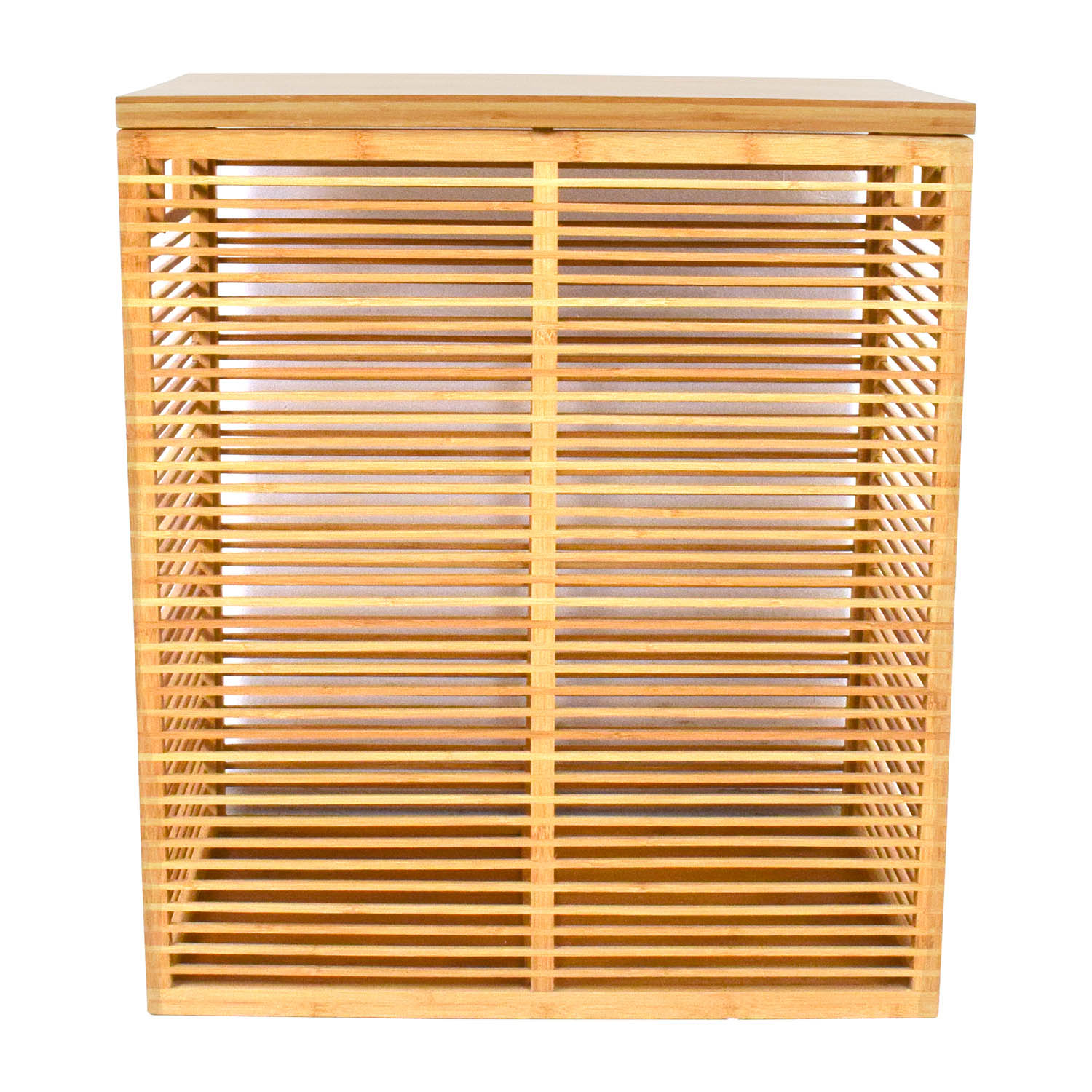 buy Crate & Barrel Dixon Bamboo Hamper Crate and Barrel Utility Tables