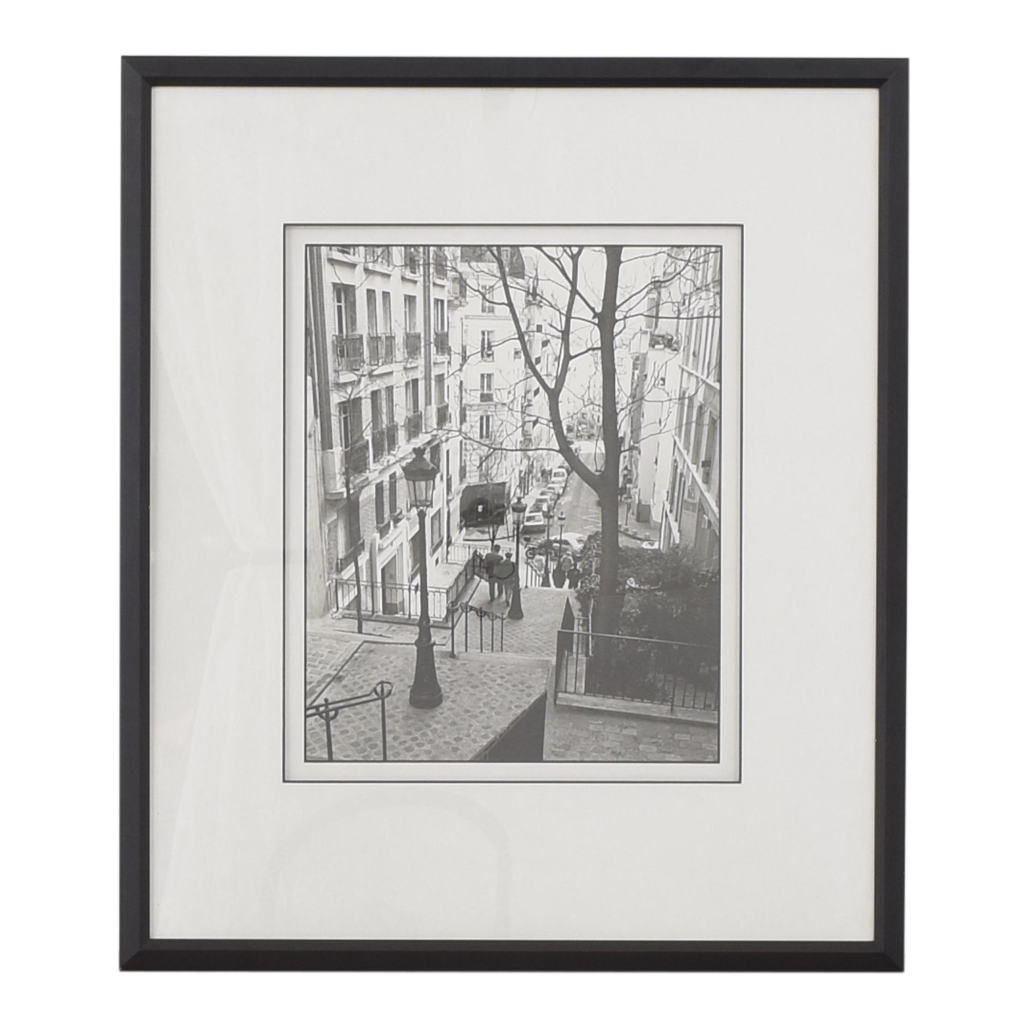 Toby Vandenack Montmartre Steps Framed Art Print