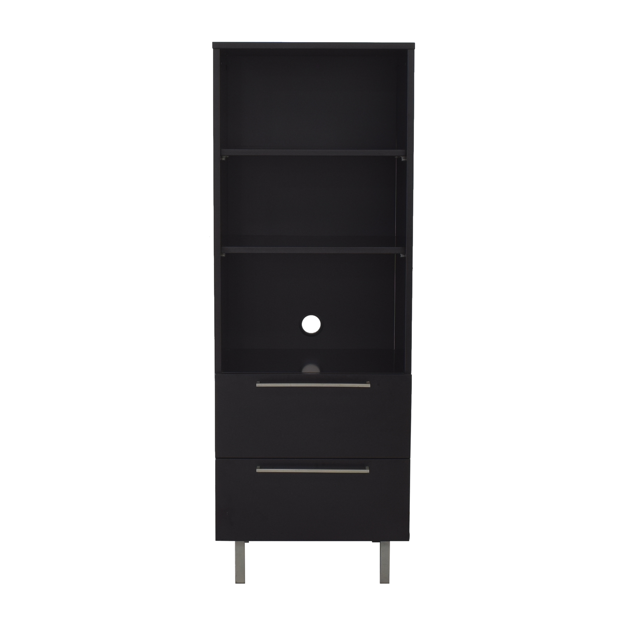 Danish Two Drawer Bookcase second hand