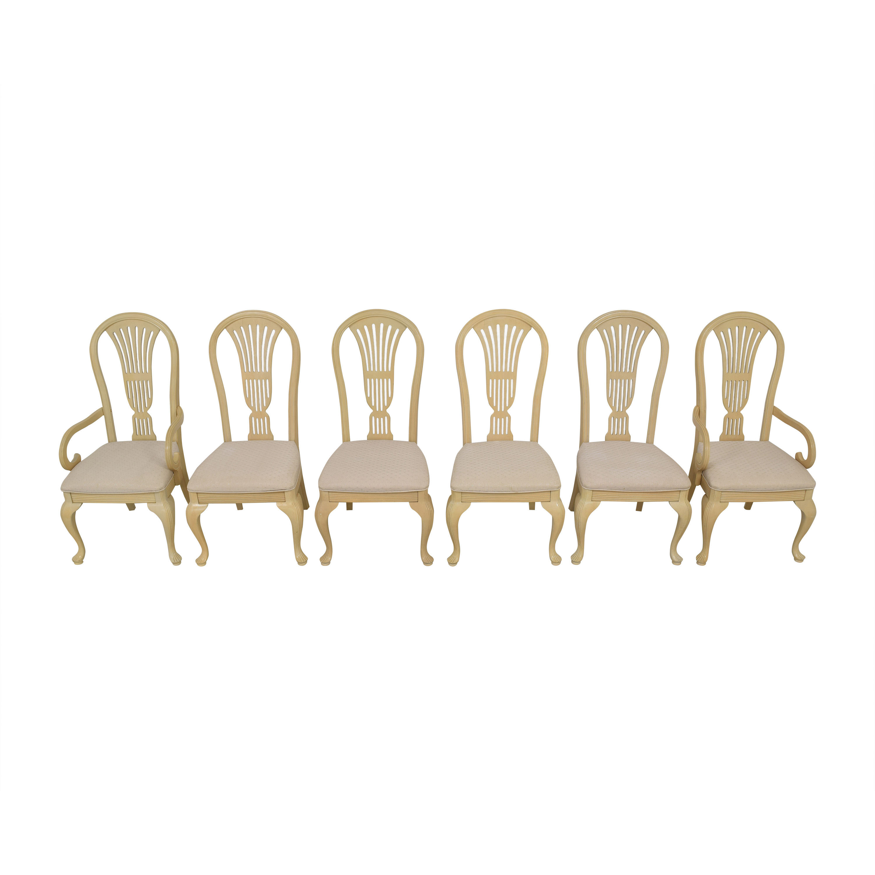 Universal Furniture Universal Furniture Upholstered Dining Chairs ta and beige