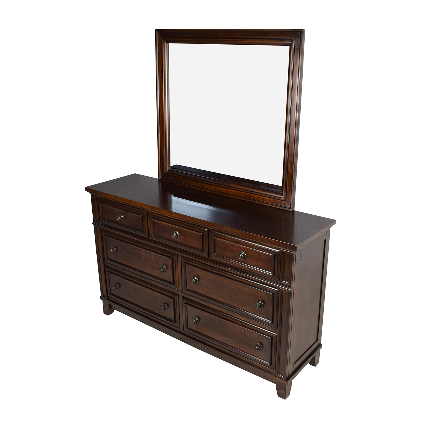shop Harwich Cherry Harwich Cherry 7-Drawer Dresser and Mirror online