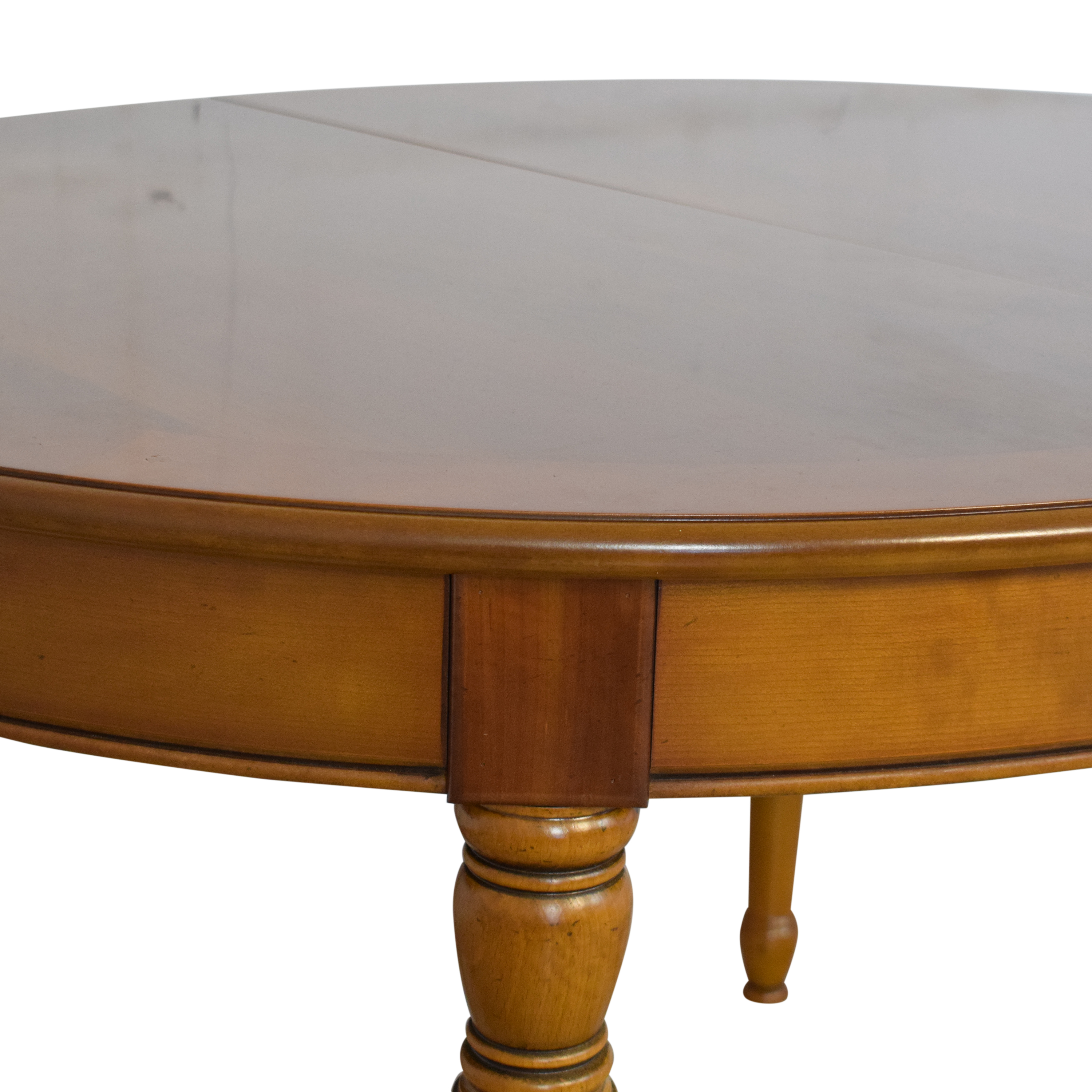 buy Pfister Extendable Round Dining Table Pfister Dinner Tables