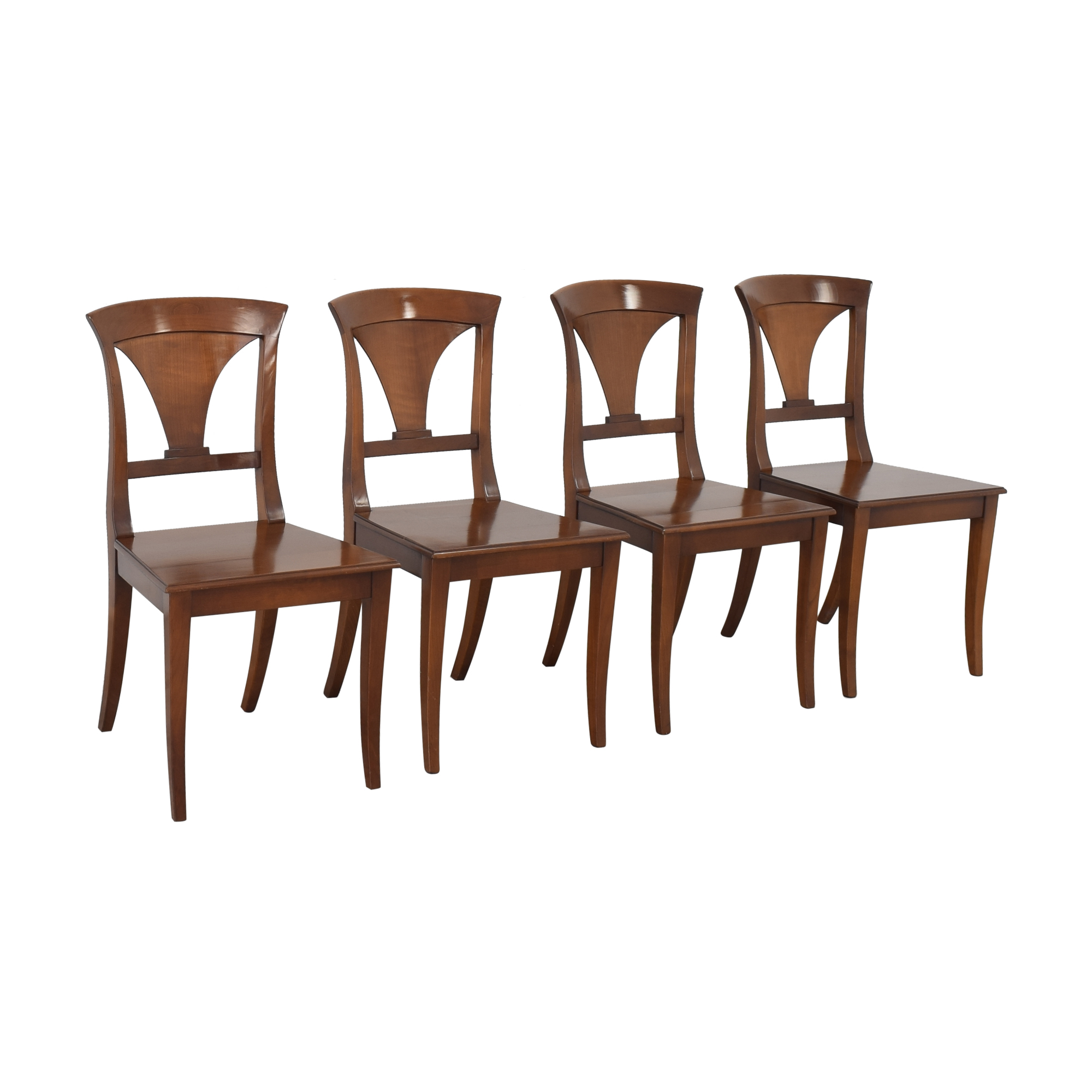 Pfister Pfister Swiss Style Dining Chairs brown