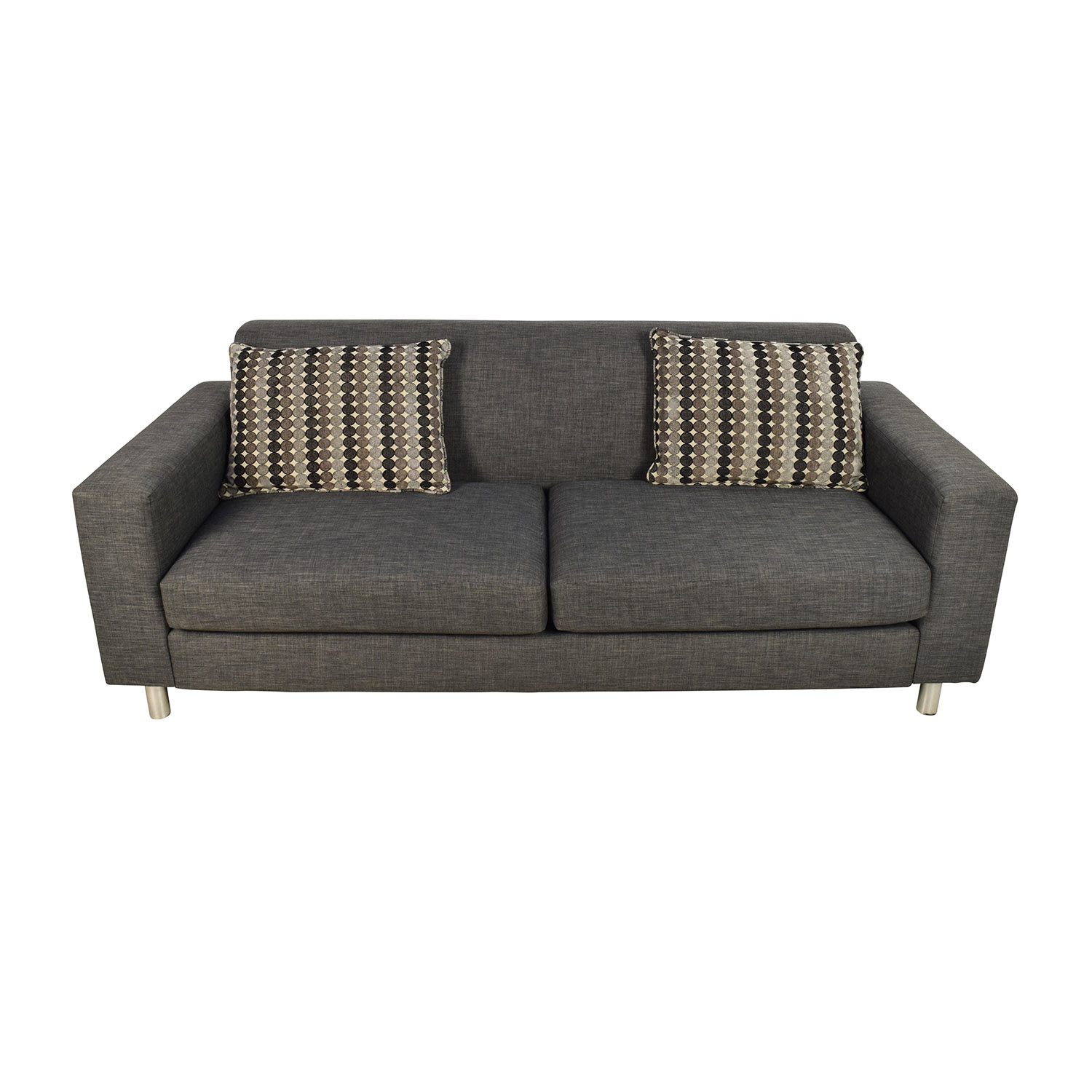 shop Cort Pia Sofa with 2 Toss Pillows Cort