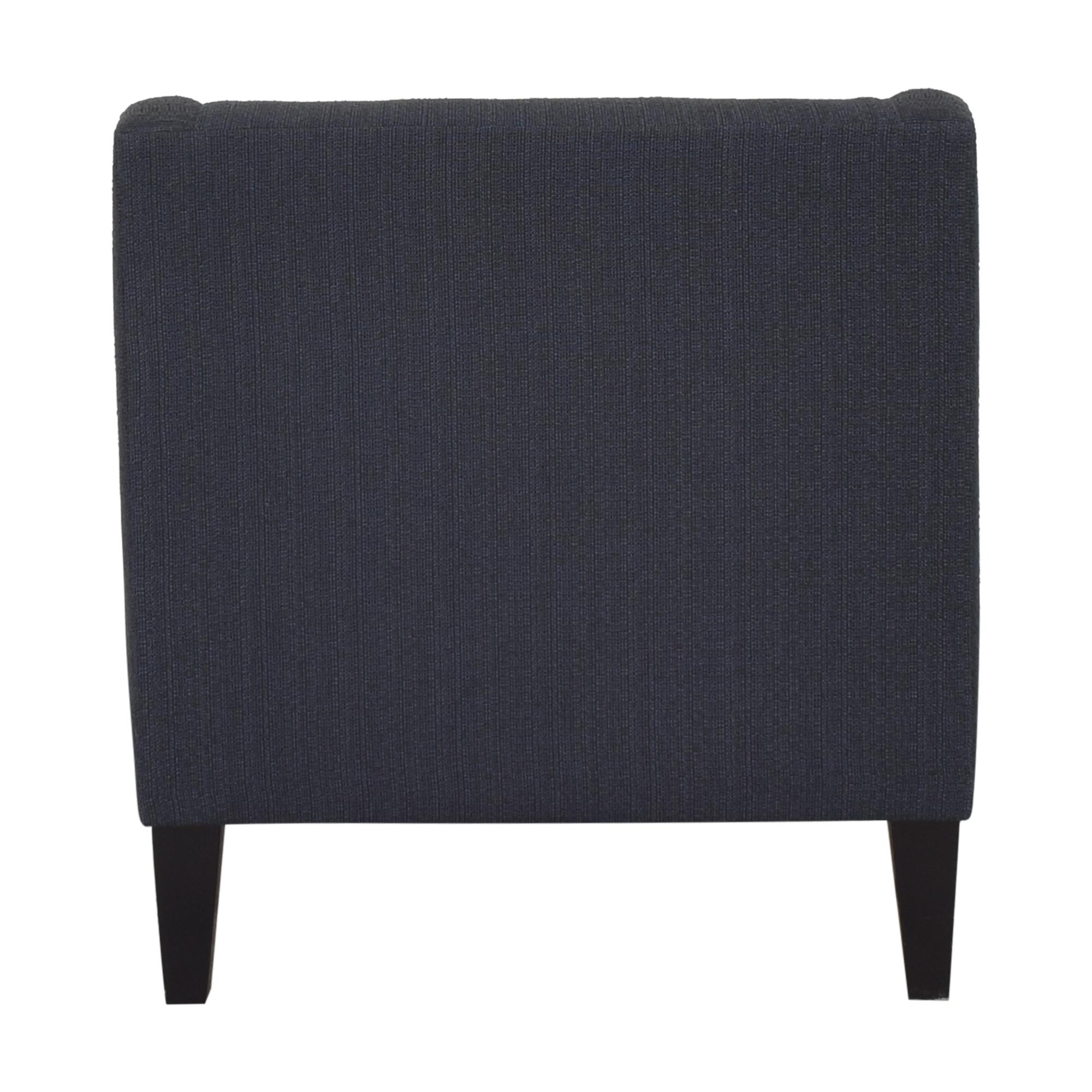 Crate & Barrel Crate & Barrel Margot Chair blue