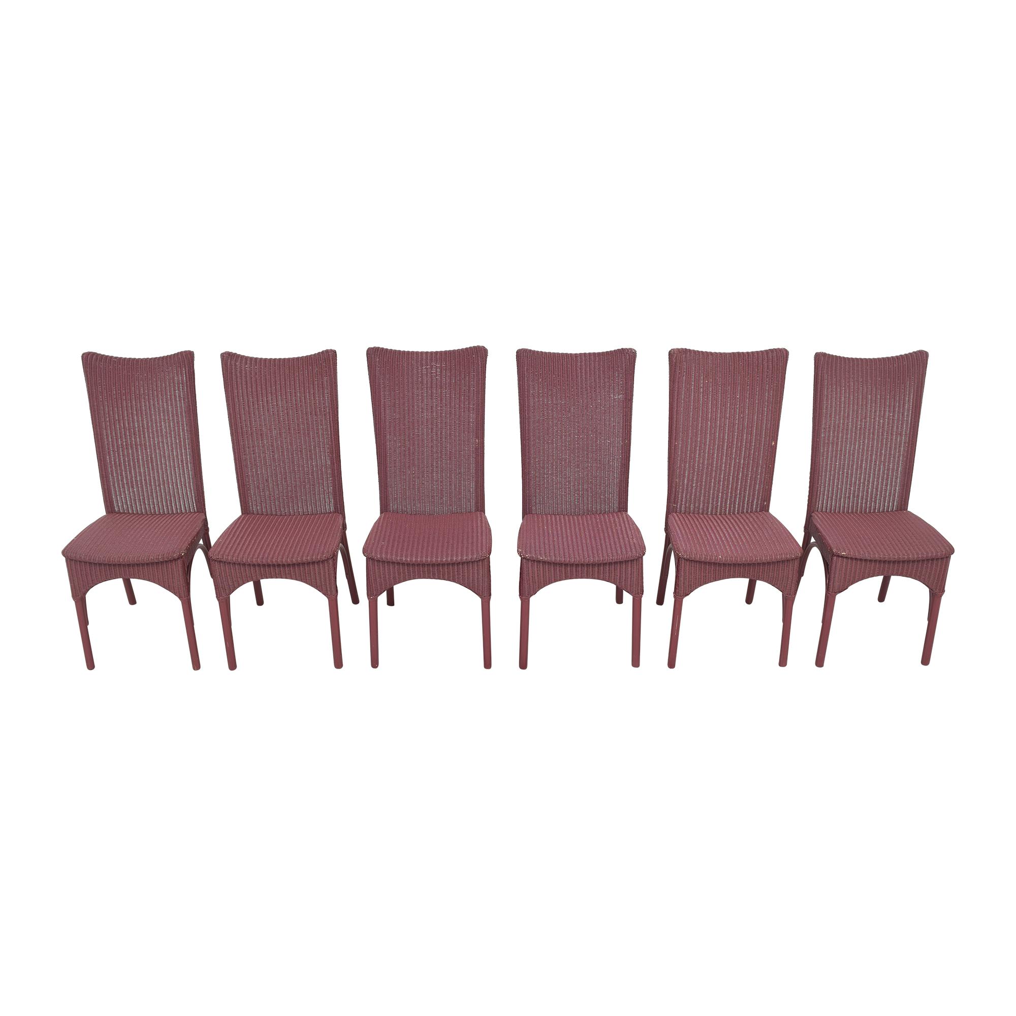 shop Loom High Back Dining Chairs Loom USA Chairs