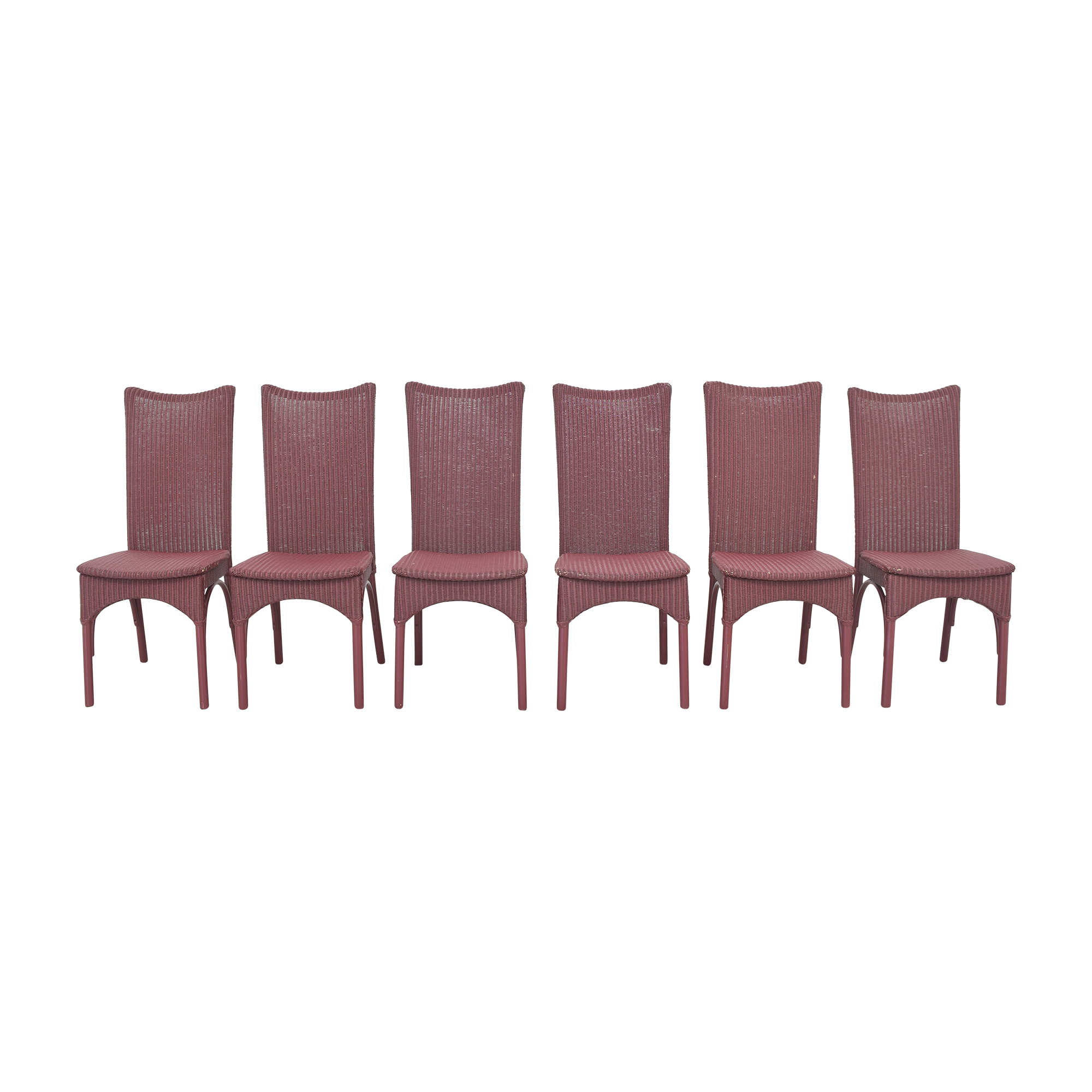 shop Loom High Back Dining Chairs Loom USA