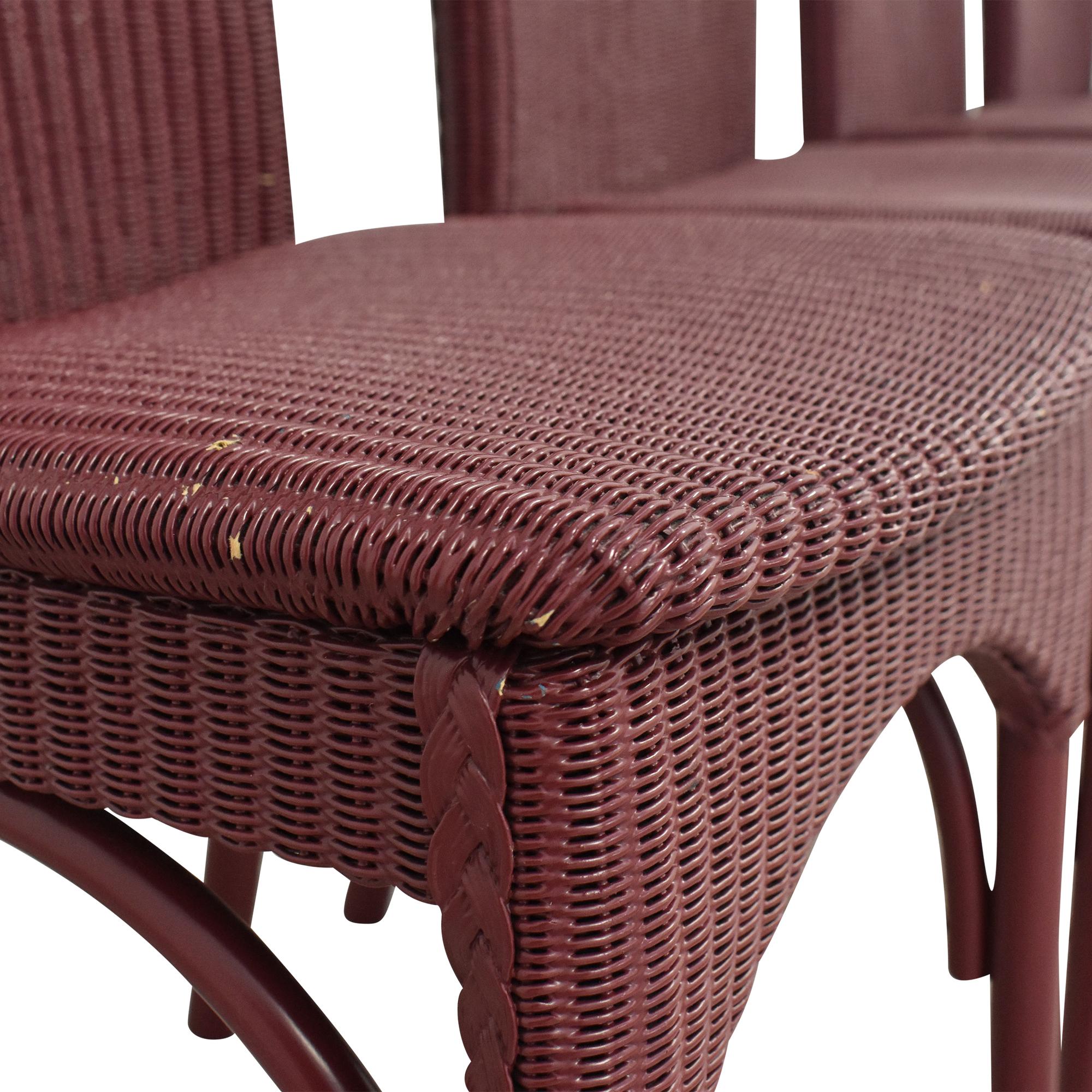 Loom High Back Dining Chairs Loom USA