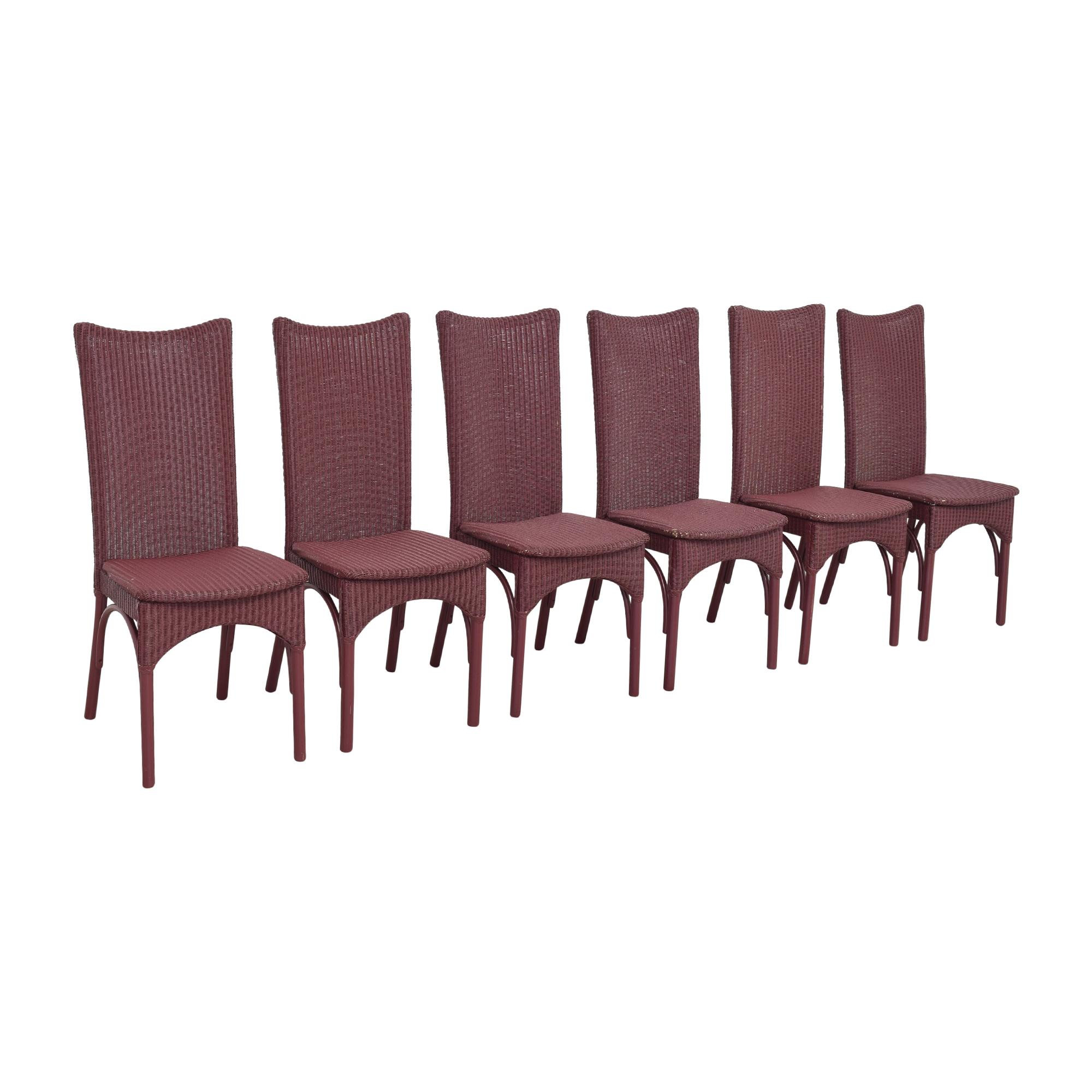Loom USA Loom High Back Dining Chairs discount