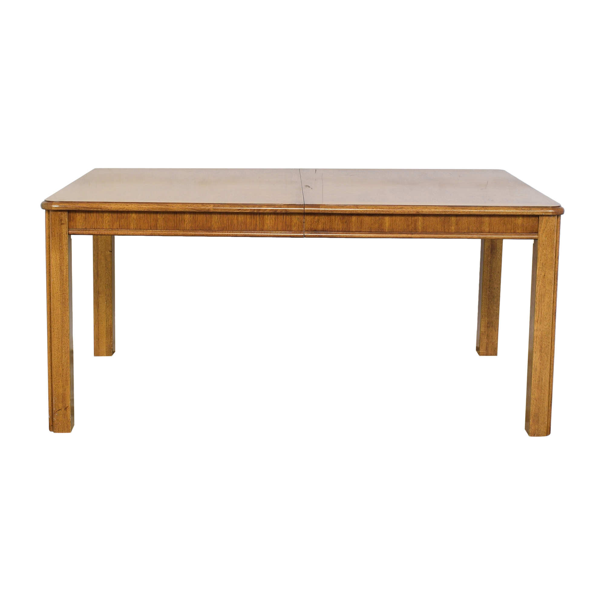 shop Thomasville Expandable Dining Table with Two Leaves Thomasville Dinner Tables