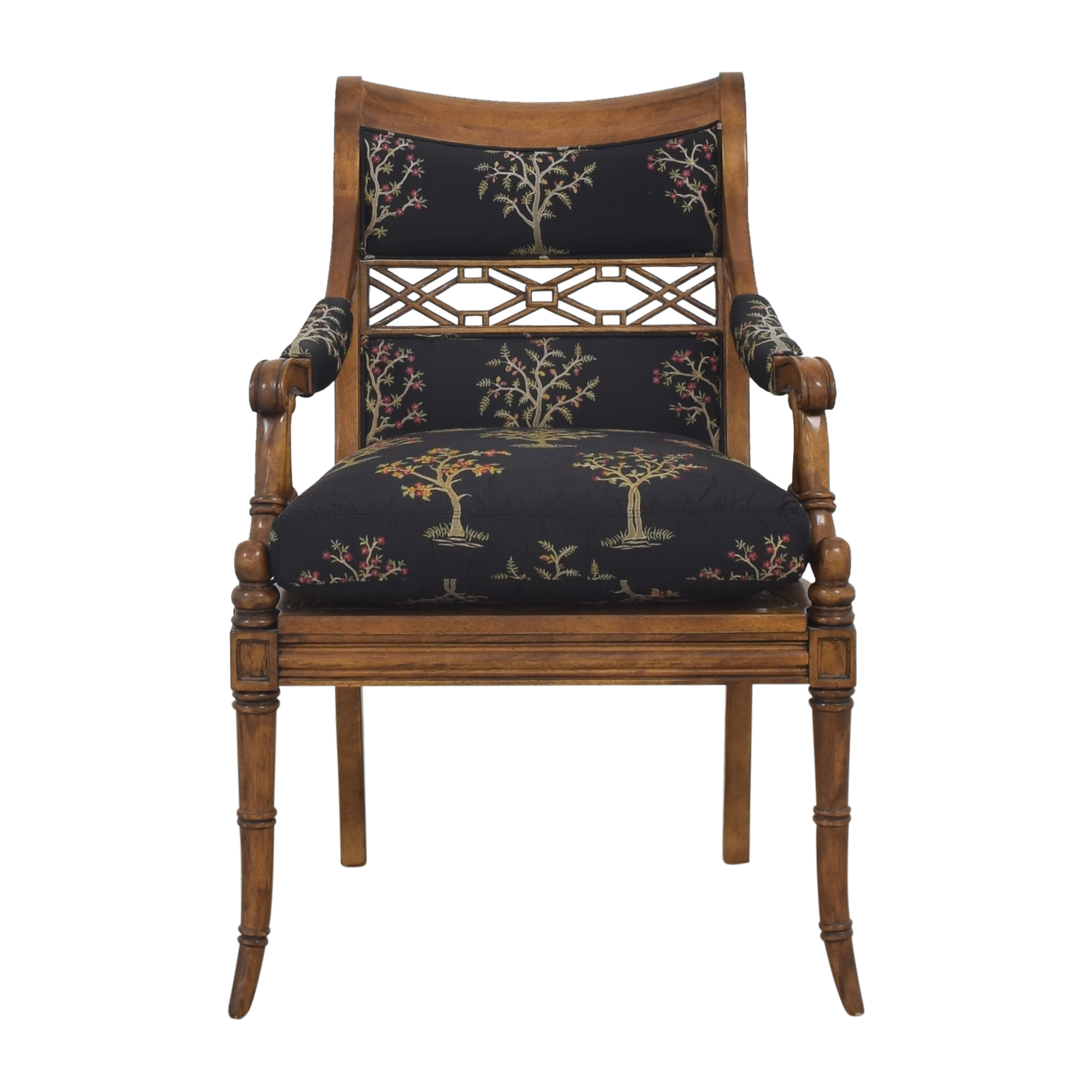 shop Century Furniture Accent Chair with Cushion Century Furniture Chairs