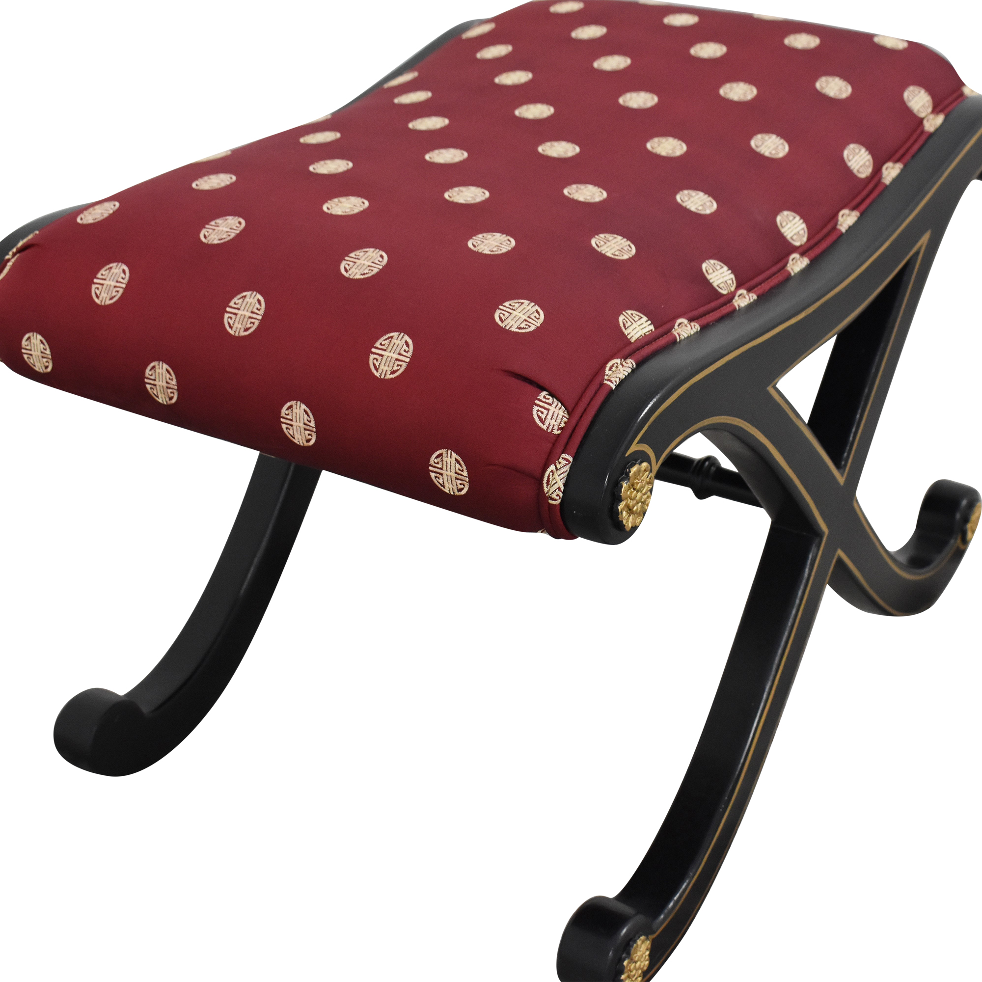 buy Century  Furniture Upholstered Tabouret Ottoman Century Furniture