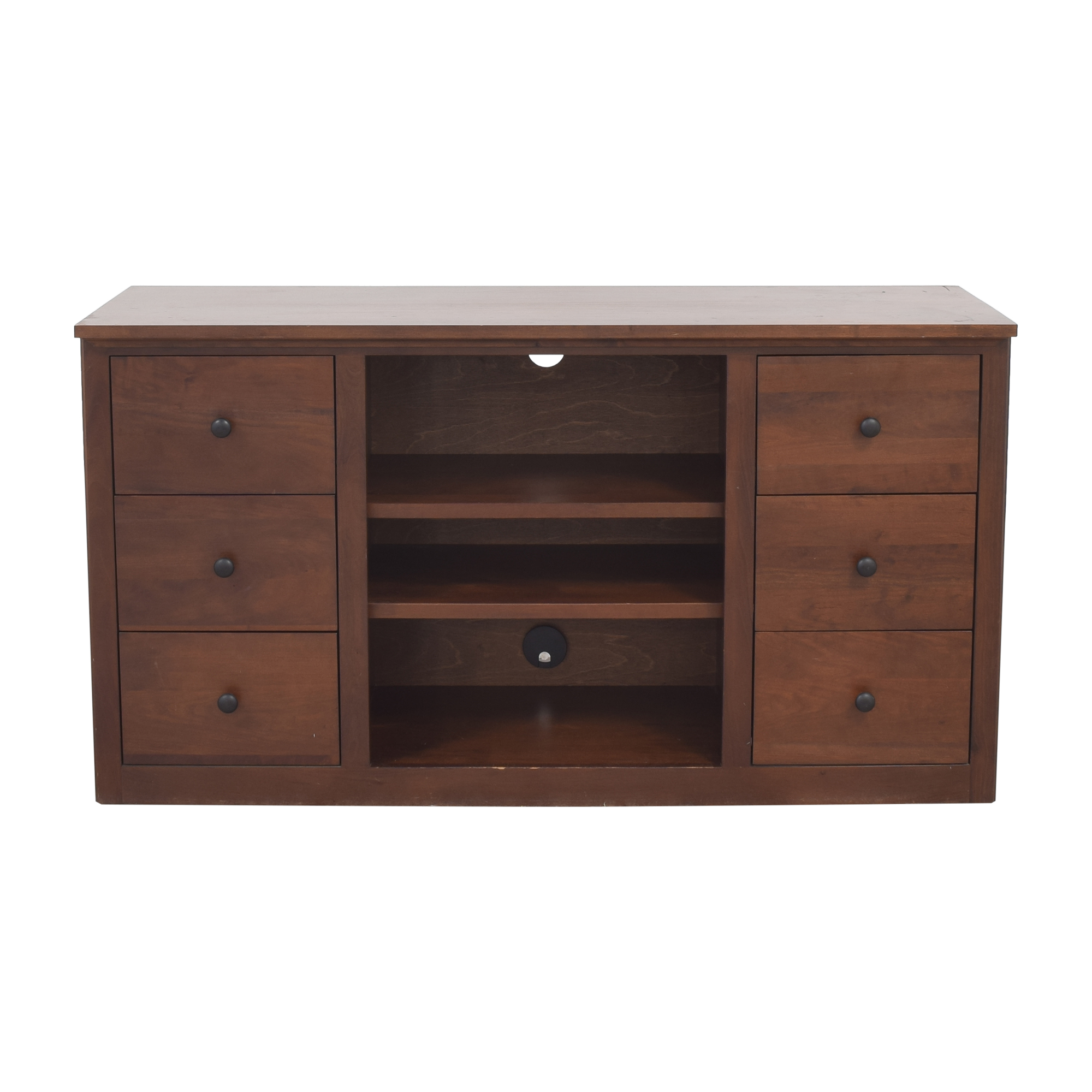 Crate & Barrel Crate & Barrel Media Console Storage