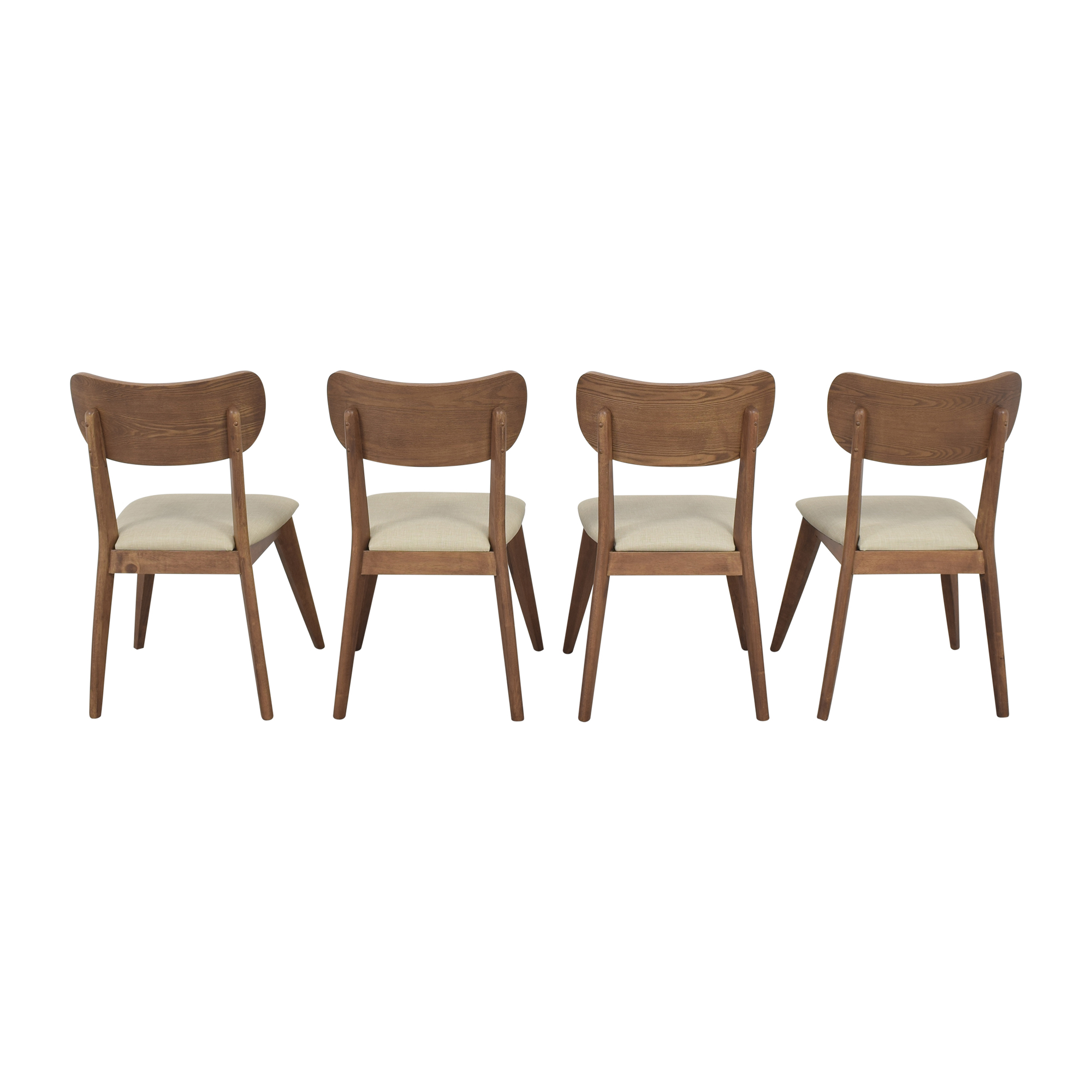 AllModern AllModern Mid-Century Modern Style Dining Chairs ma