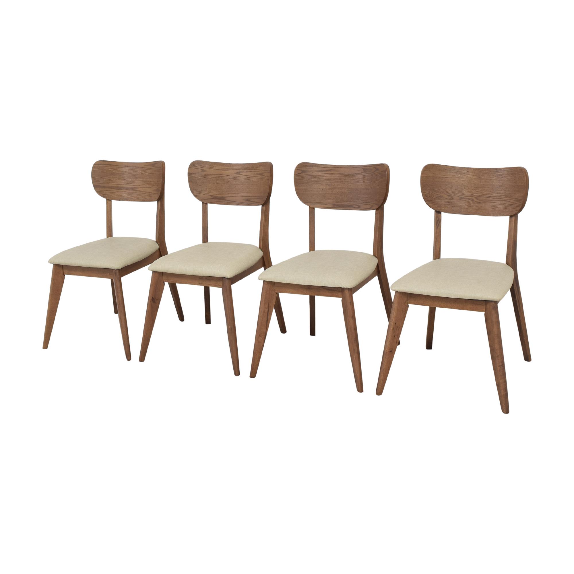 AllModern Mid-Century Modern Style Dining Chairs sale