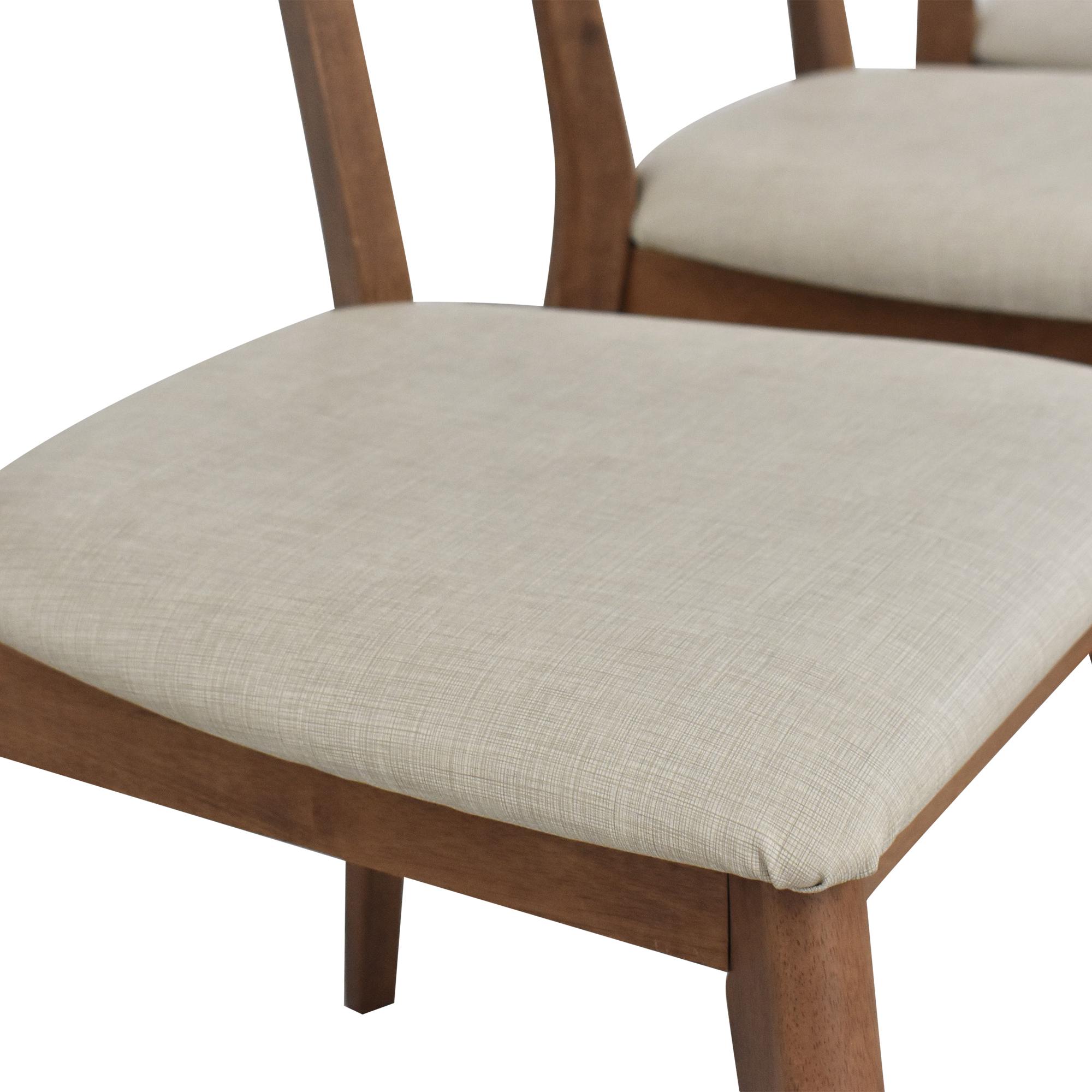 AllModern AllModern Mid-Century Modern Style Dining Chairs nj