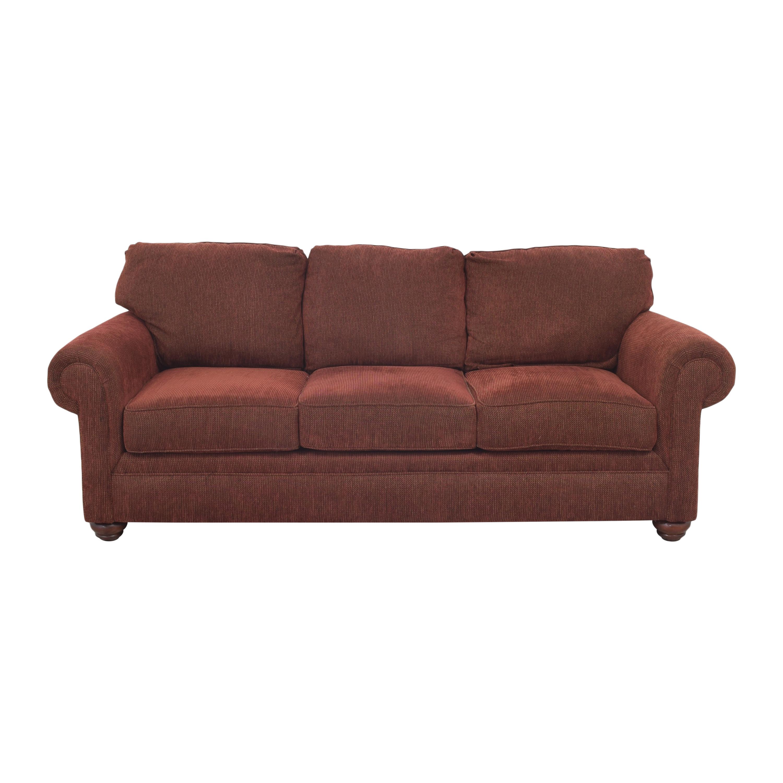 Broyhill Furniture Broyhill Roll Arm Sofa Sofas