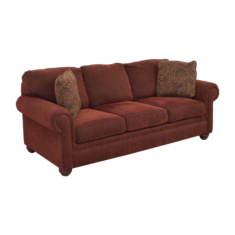 Broyhill Furniture Broyhill Roll Arm Sofa used