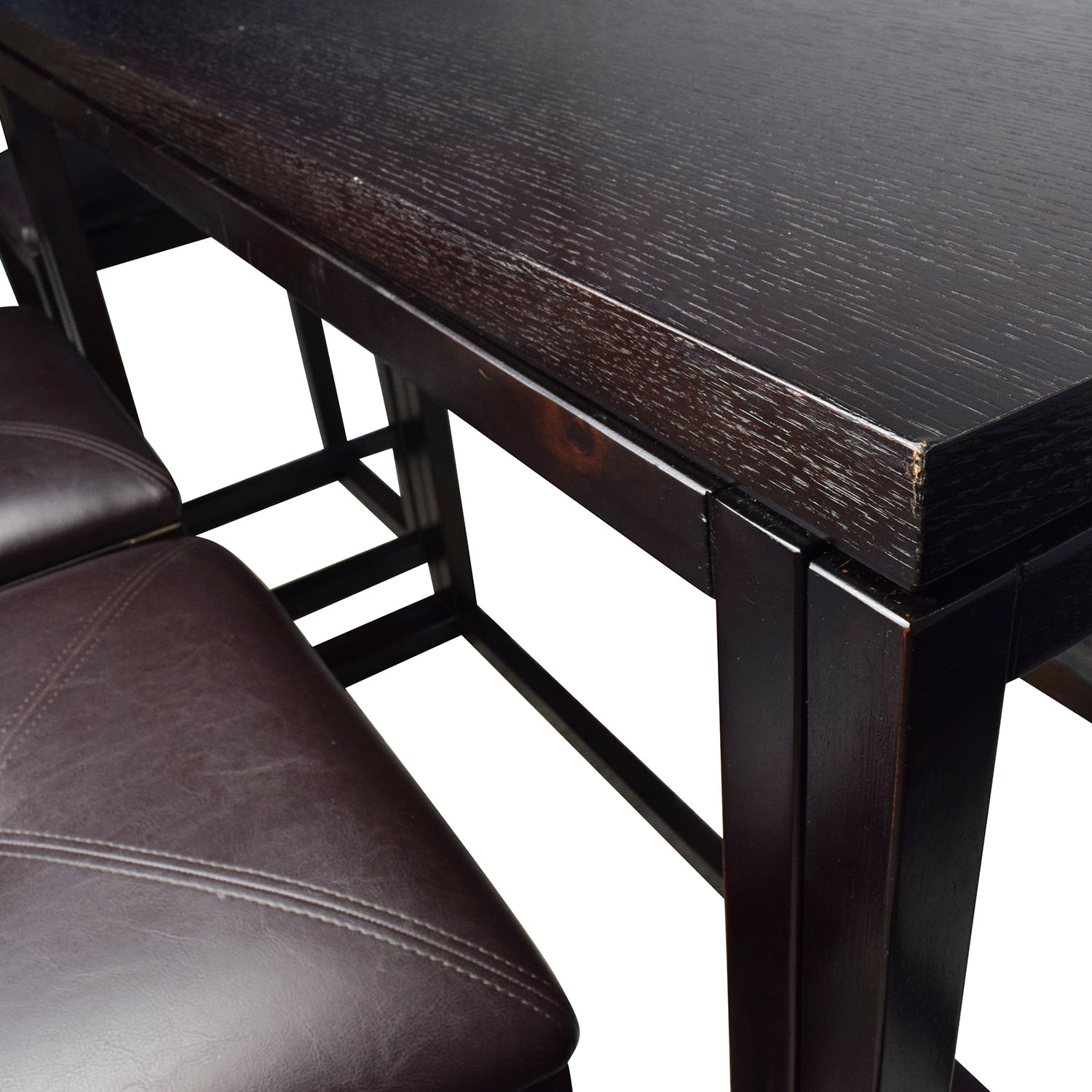Counter Height Extendable Dining Table with Stools Dining Sets