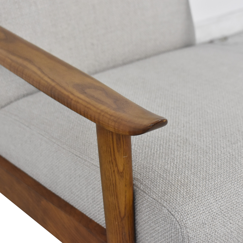 West Elm Mid-Century Show Wood Chair sale