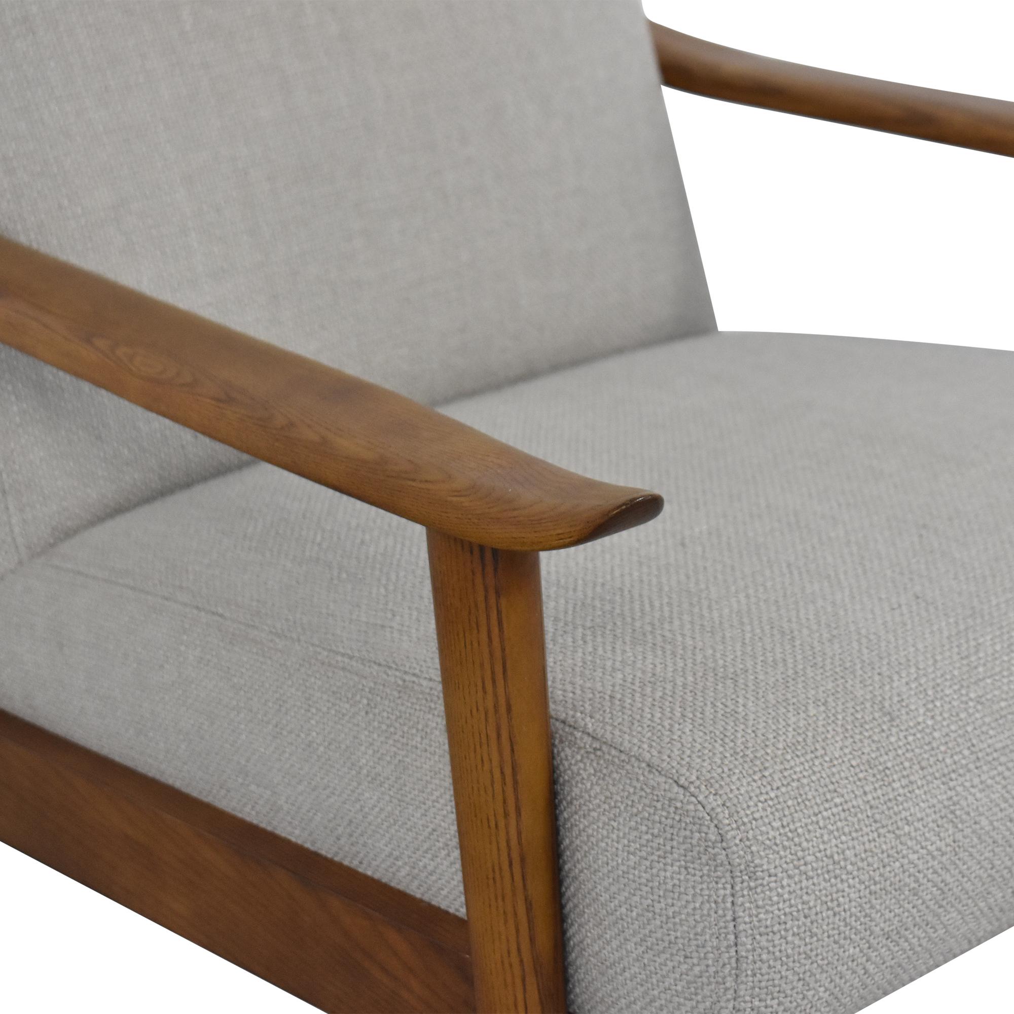 West Elm West Elm Mid-Century Show Wood Chair ct