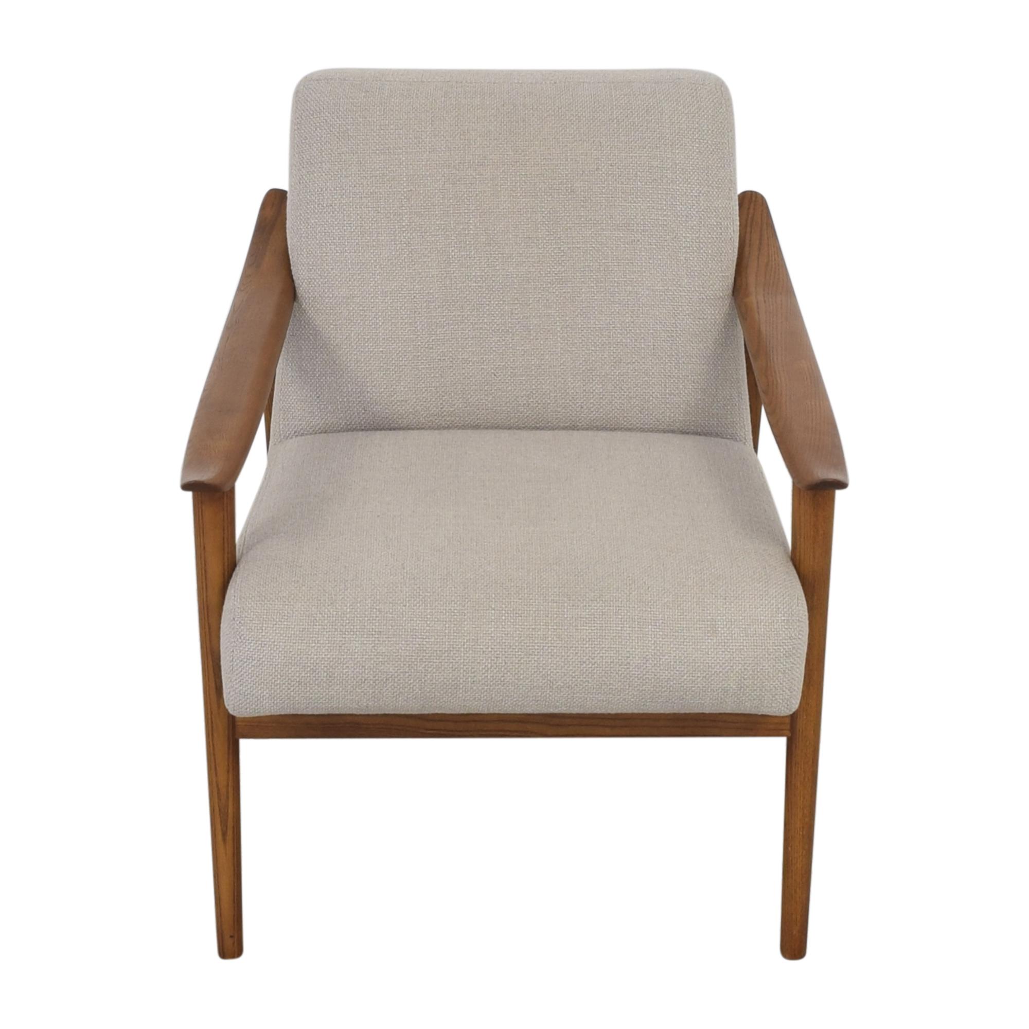 shop West Elm Mid-Century Show Wood Chair West Elm