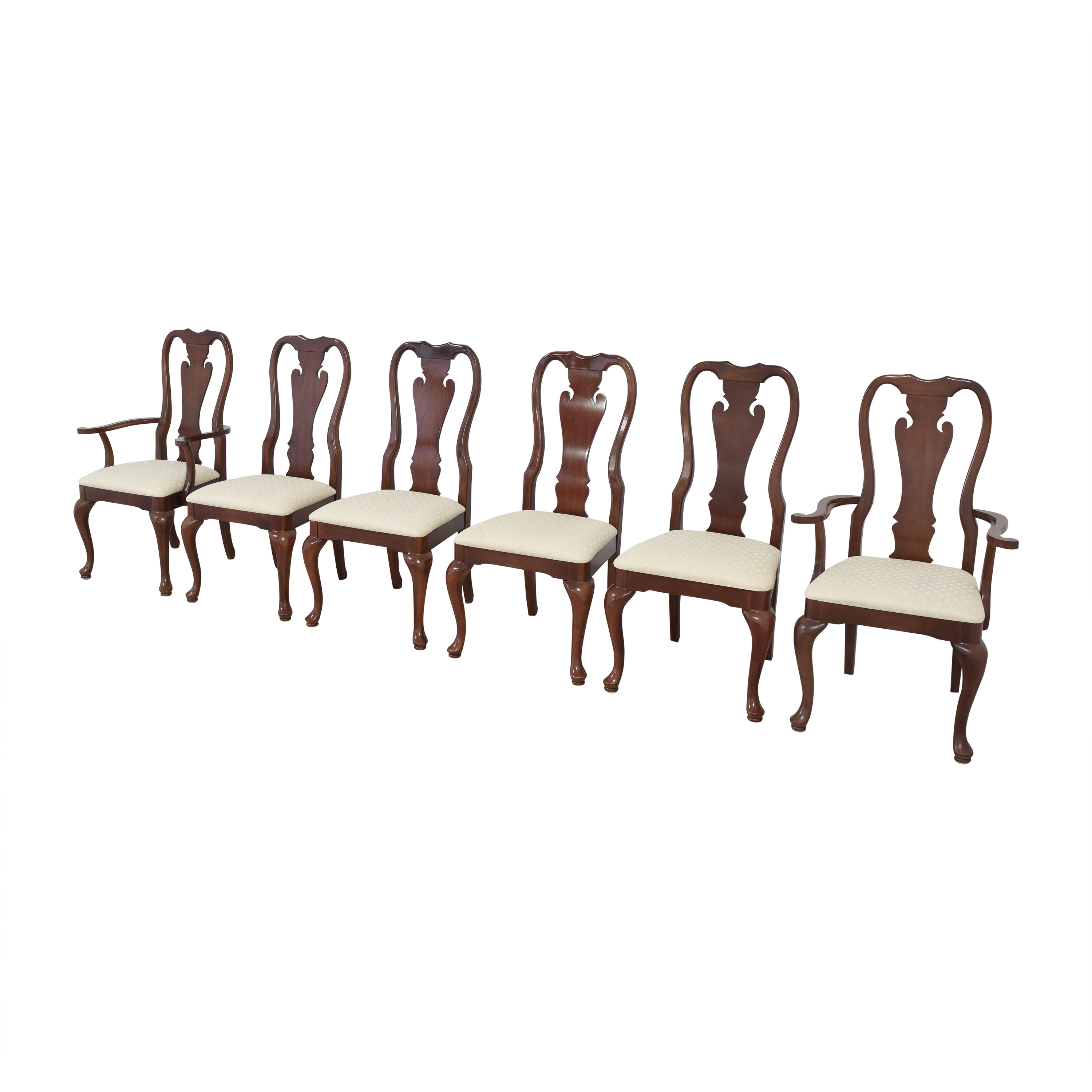 Thomasville Queen Anne Dining Chairs sale