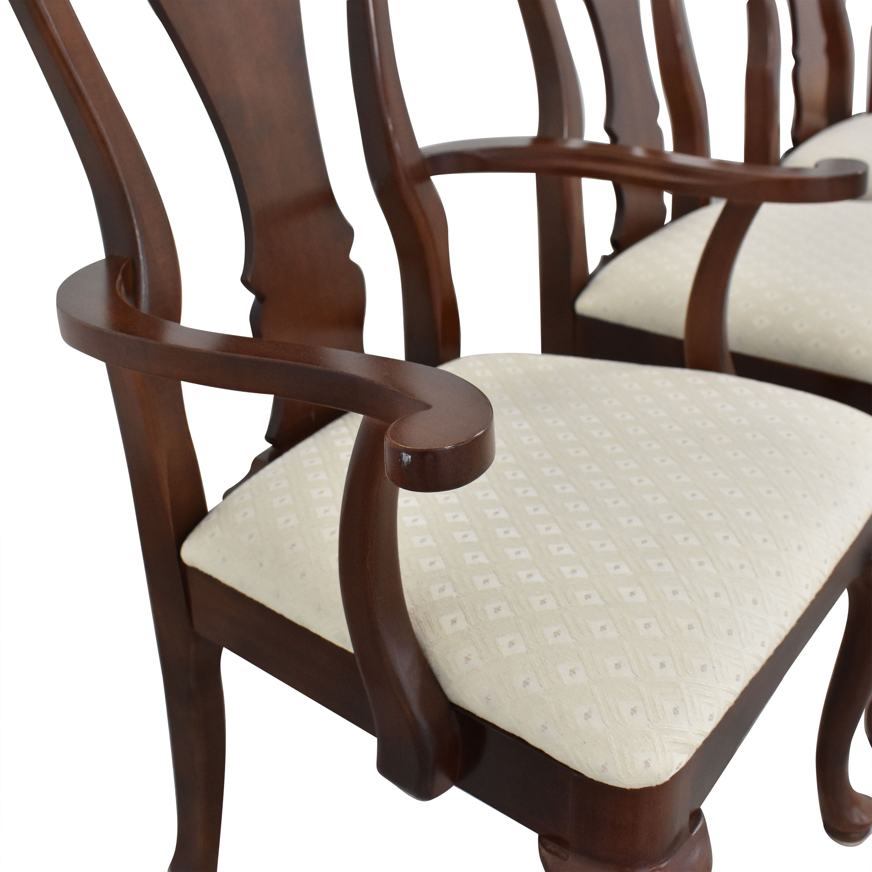 Thomasville Thomasville Queen Anne Dining Chairs dimensions
