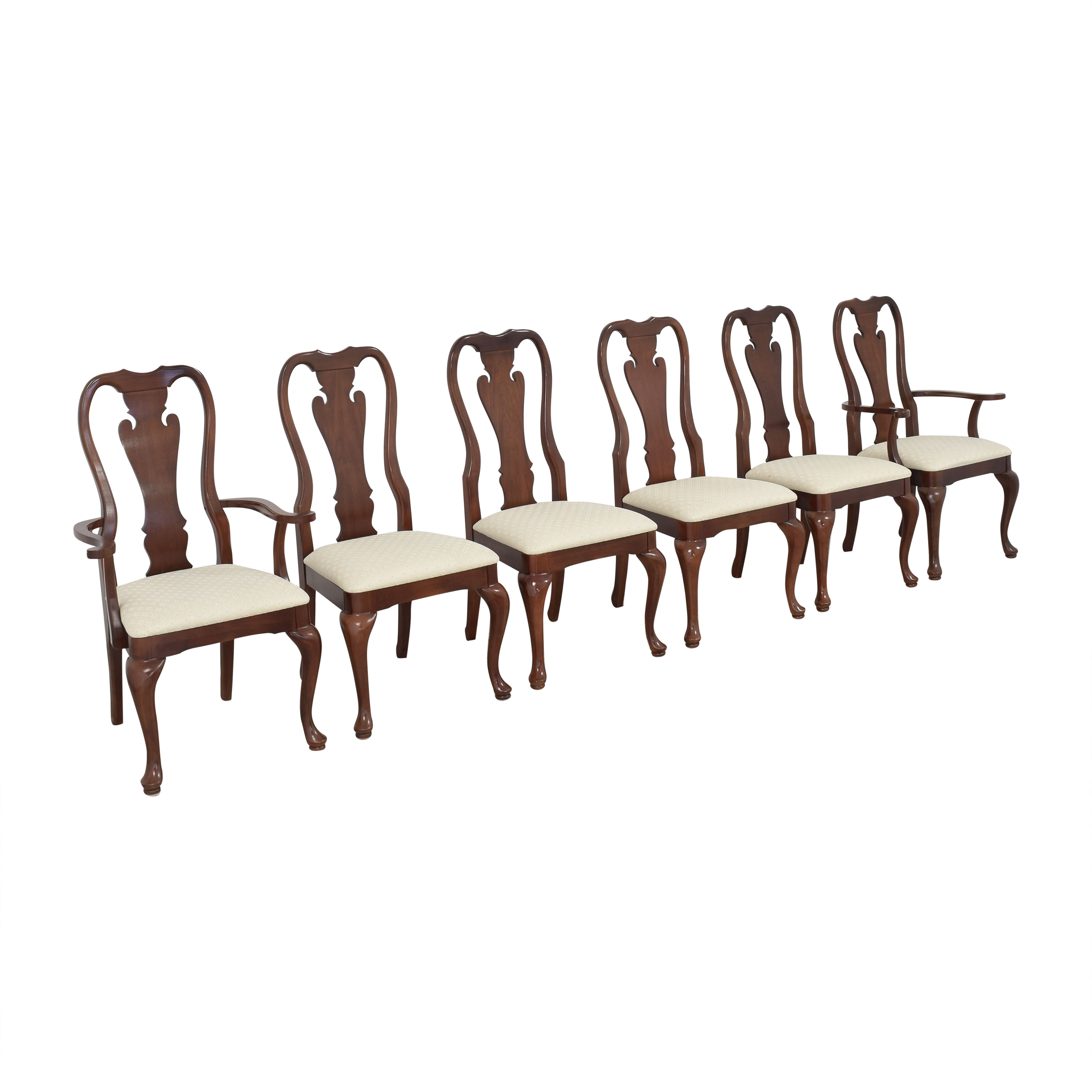 Thomasville Thomasville Queen Anne Dining Chairs ma