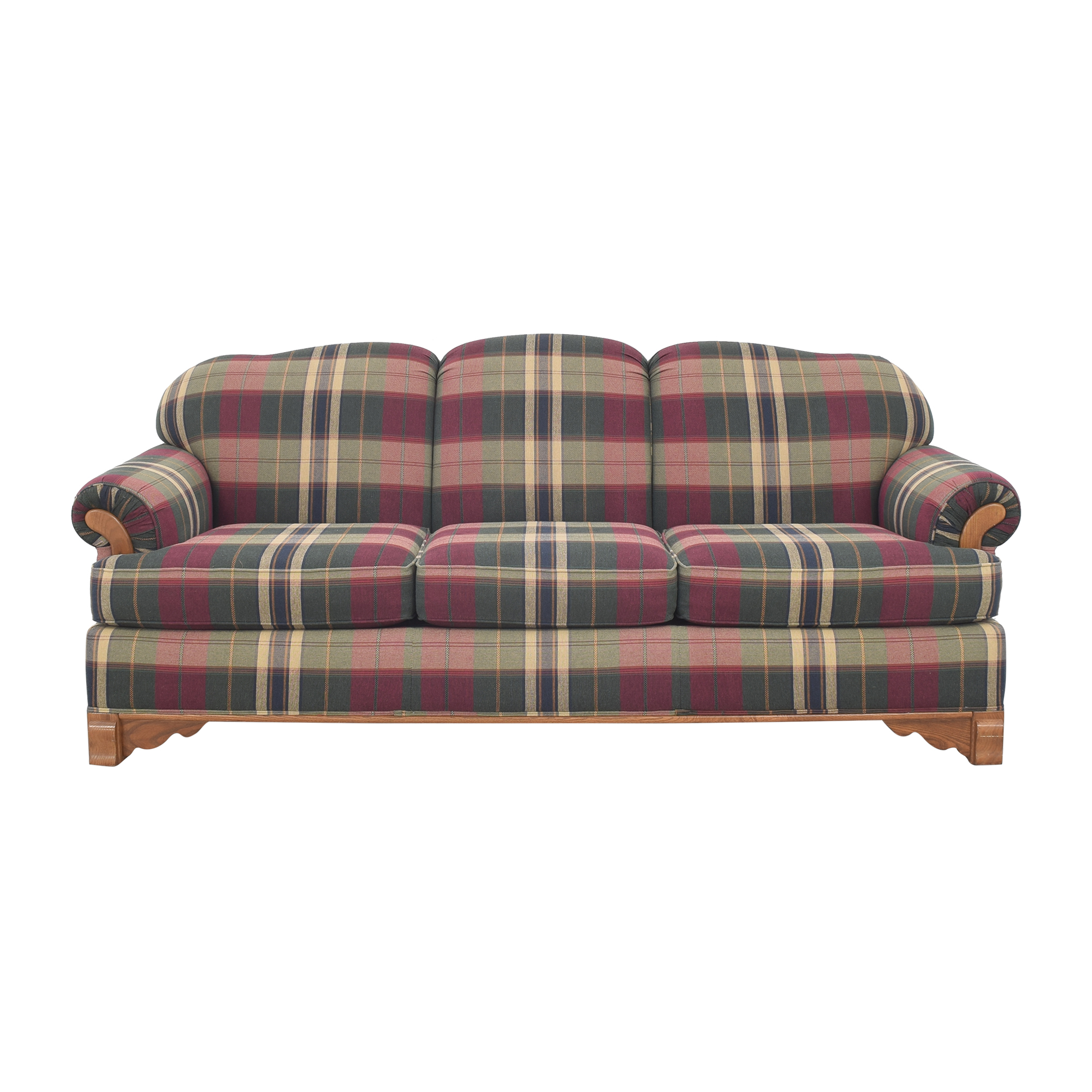 Cochran Cochran Plaid Sofa on sale