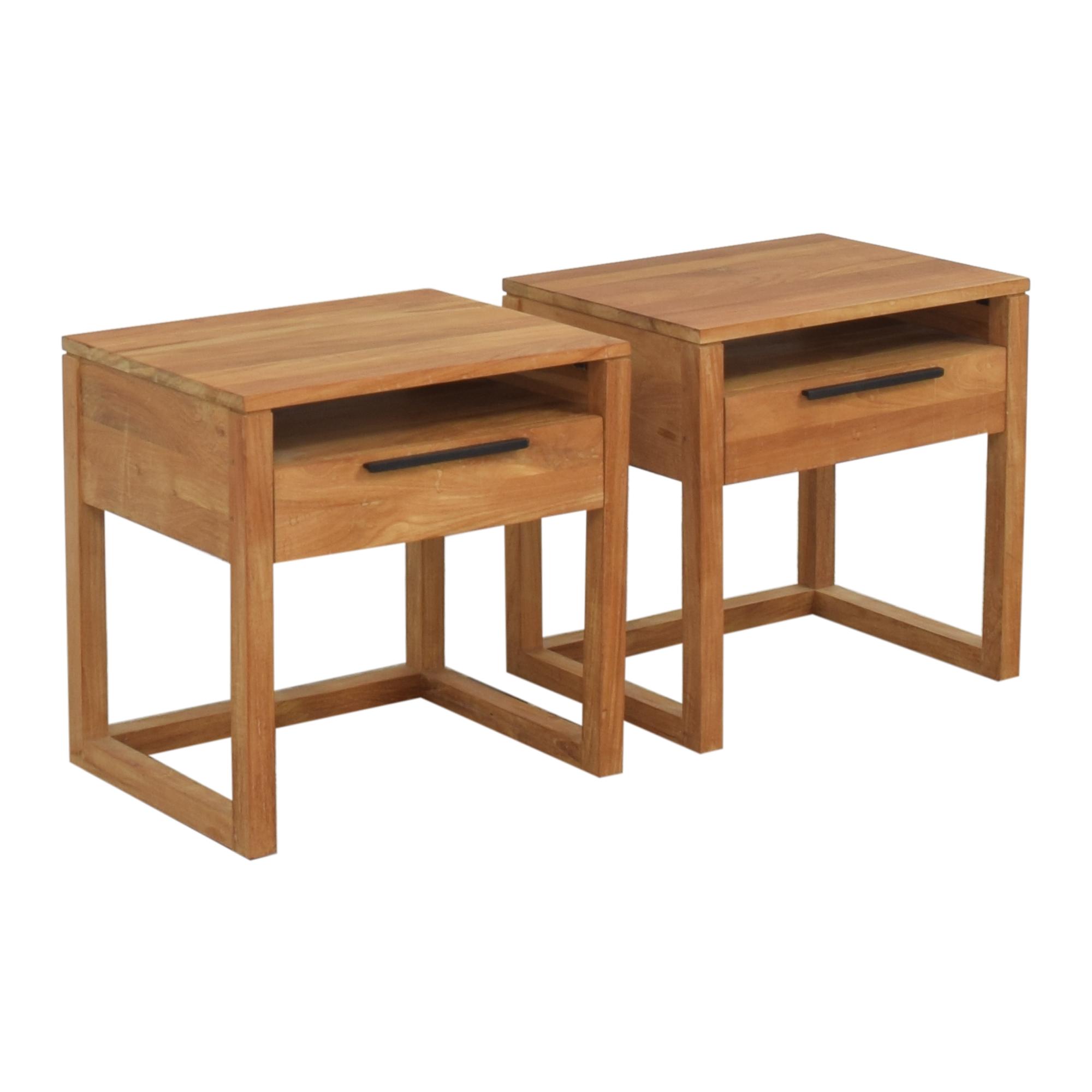 Crate & Barrel Crate & Barrel Linea II Nightstands Tables