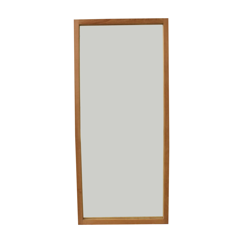 buy Crate & Barrel Linea II Floor Mirror Crate & Barrel