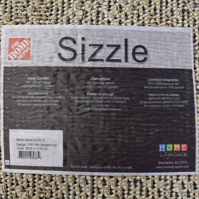 shop Home Depot Home Depot Sizzle Beige Shag Carpet online