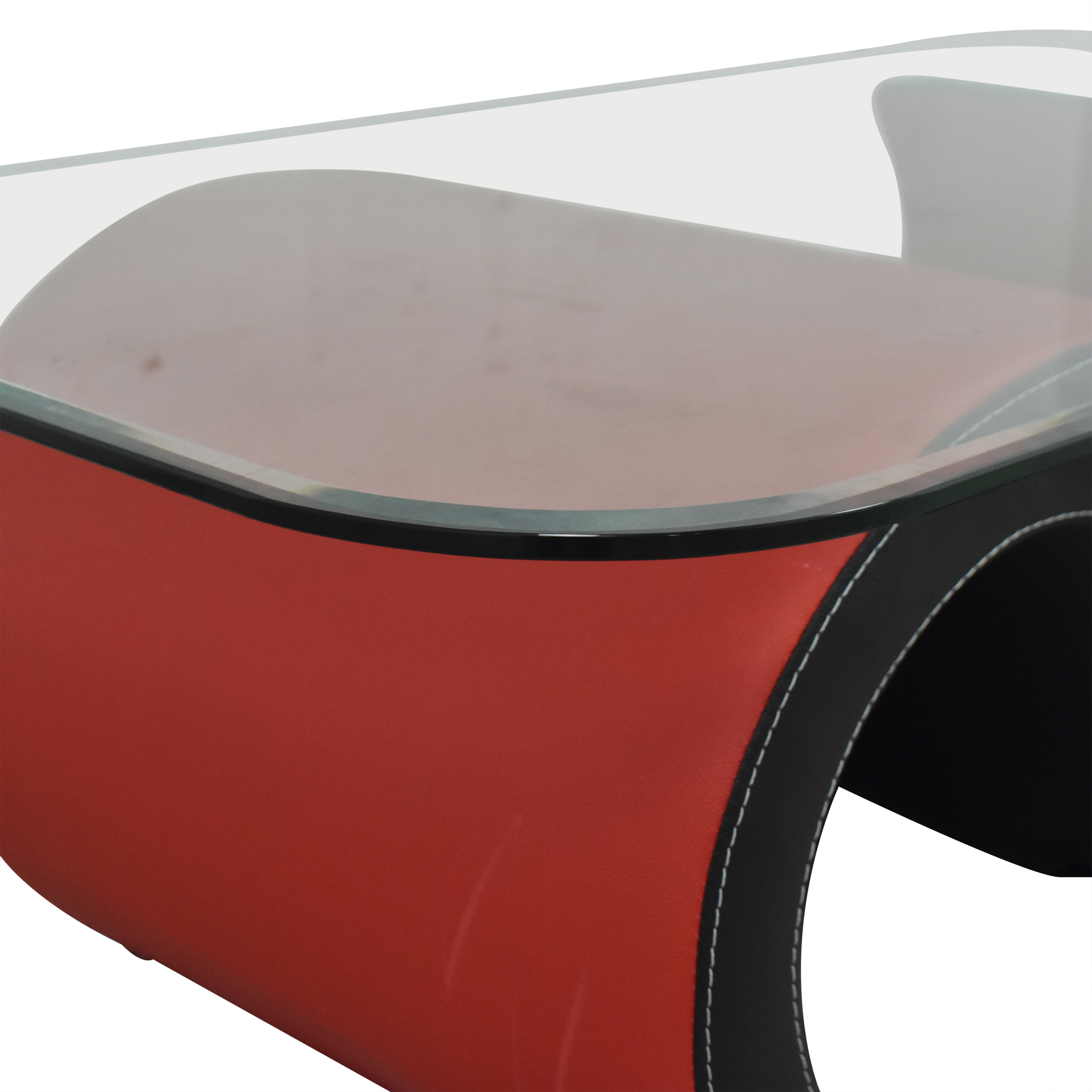 buy Macy's Macy's Abstract Coffee Table with Transparent Surface online