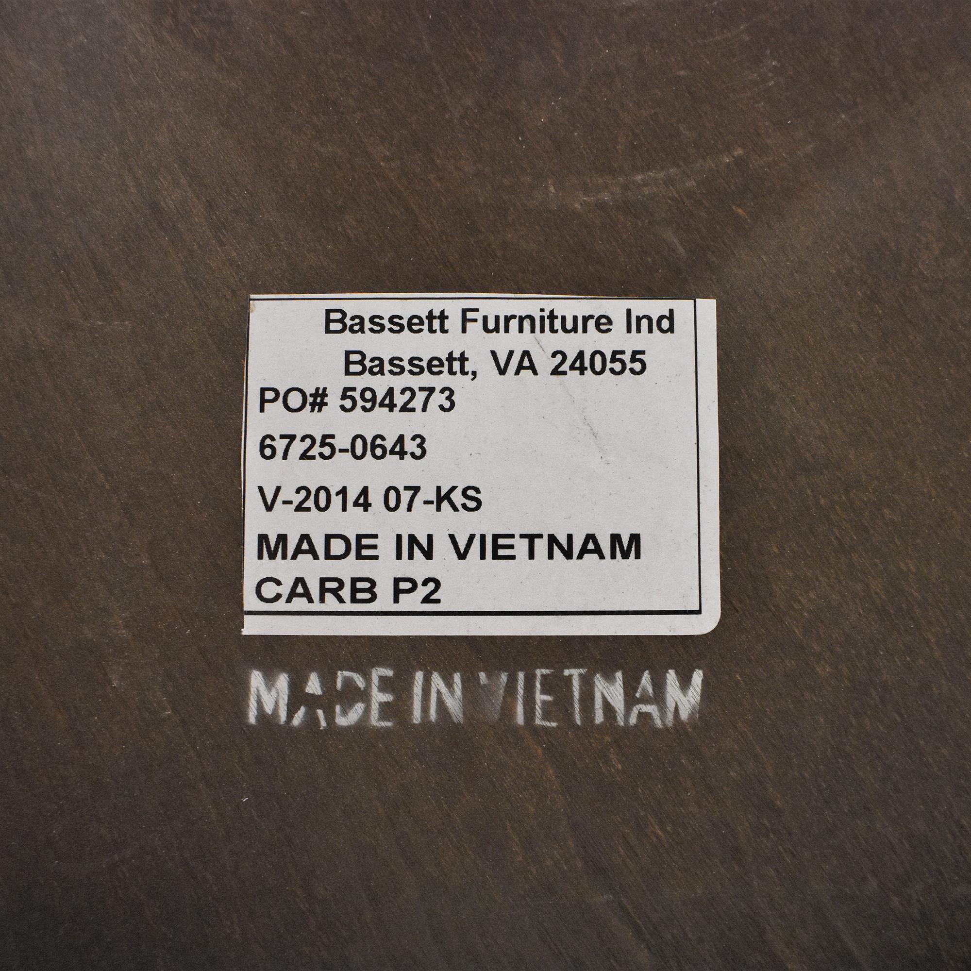 Bassett Furniture Bassett Furniture Compass Round Lamp Table price